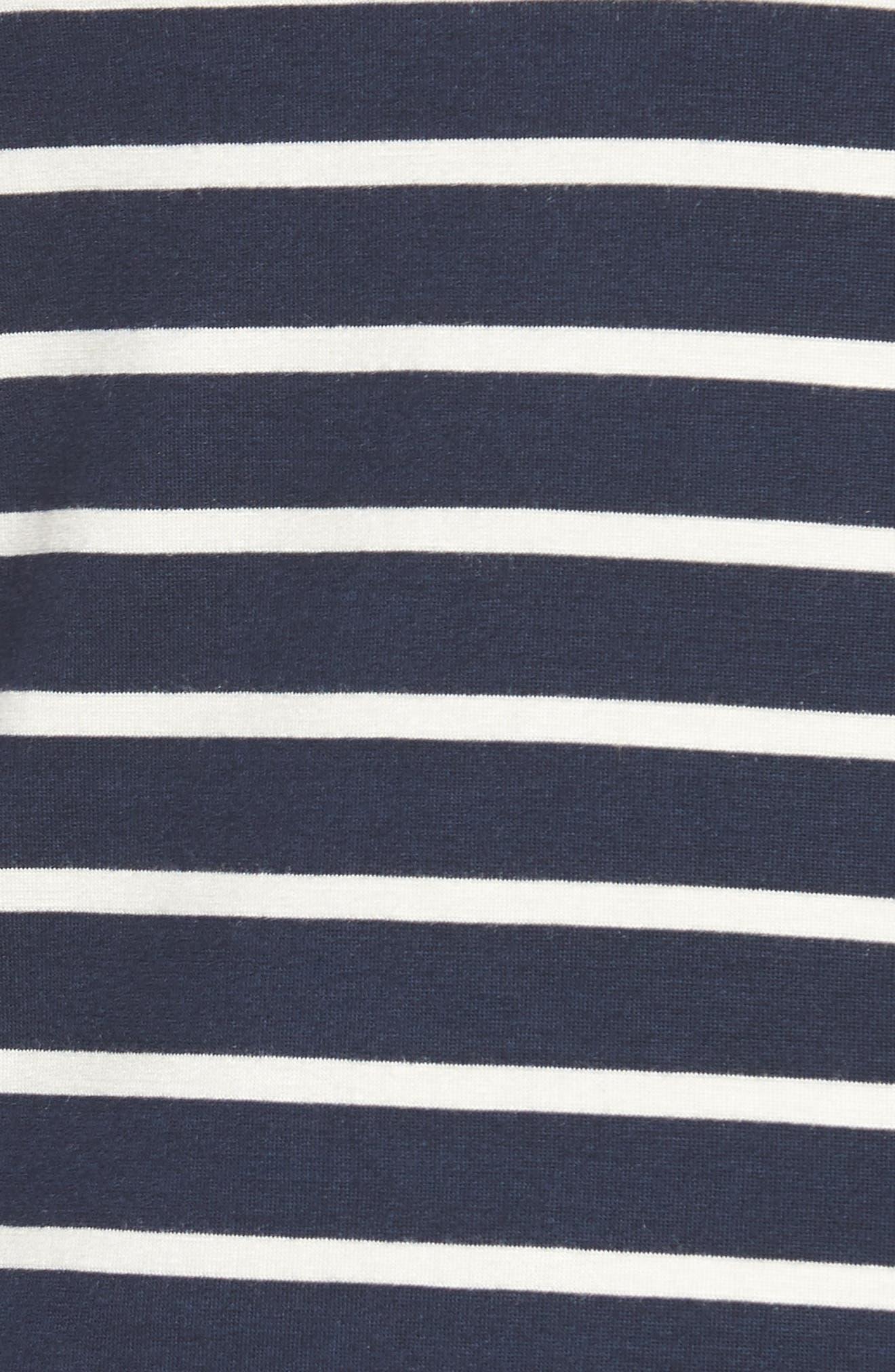 Alternate Image 5  - Amour Vert Francoise Stretch Jersey Top