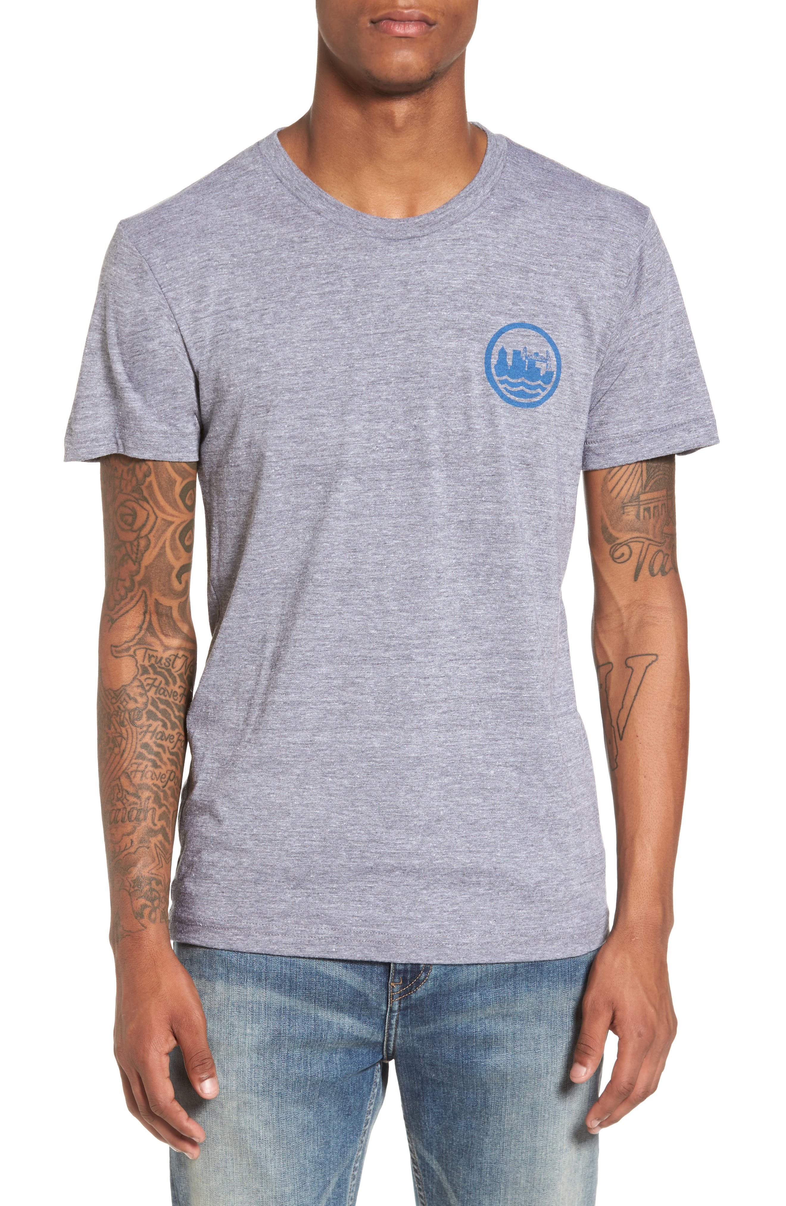 PDX T-Shirt,                         Main,                         color, Tri Athletic Grey