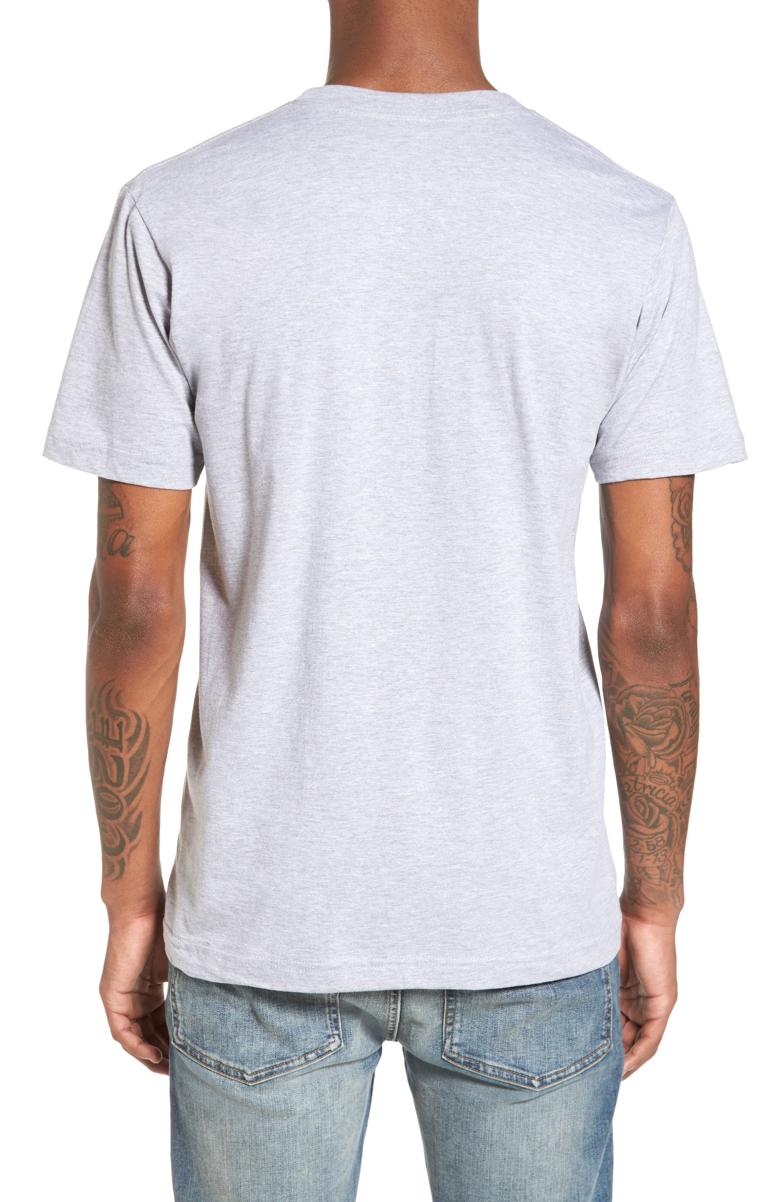Windmill Graphic T-Shirt,                             Alternate thumbnail 2, color,                             Heather Grey