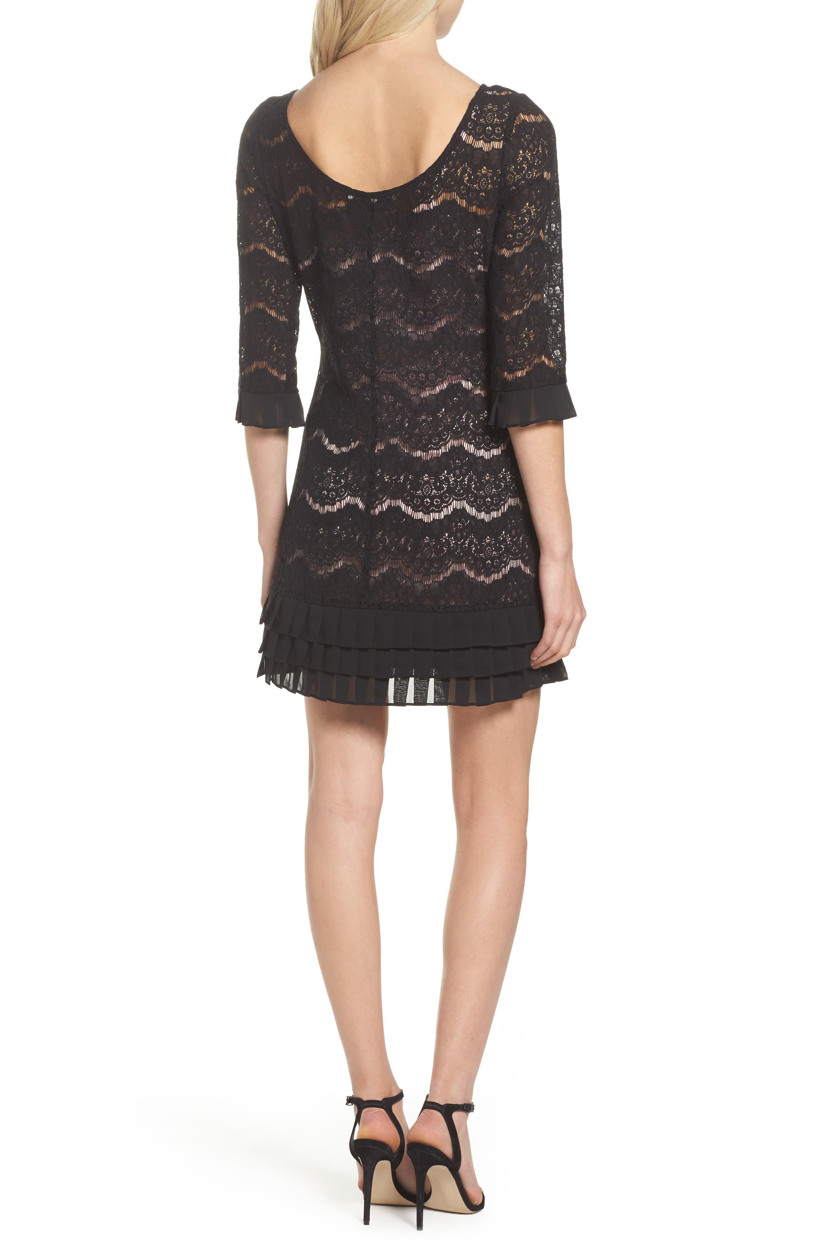 Alternate Image 2  - Julia Jordan Lace Shift Dress