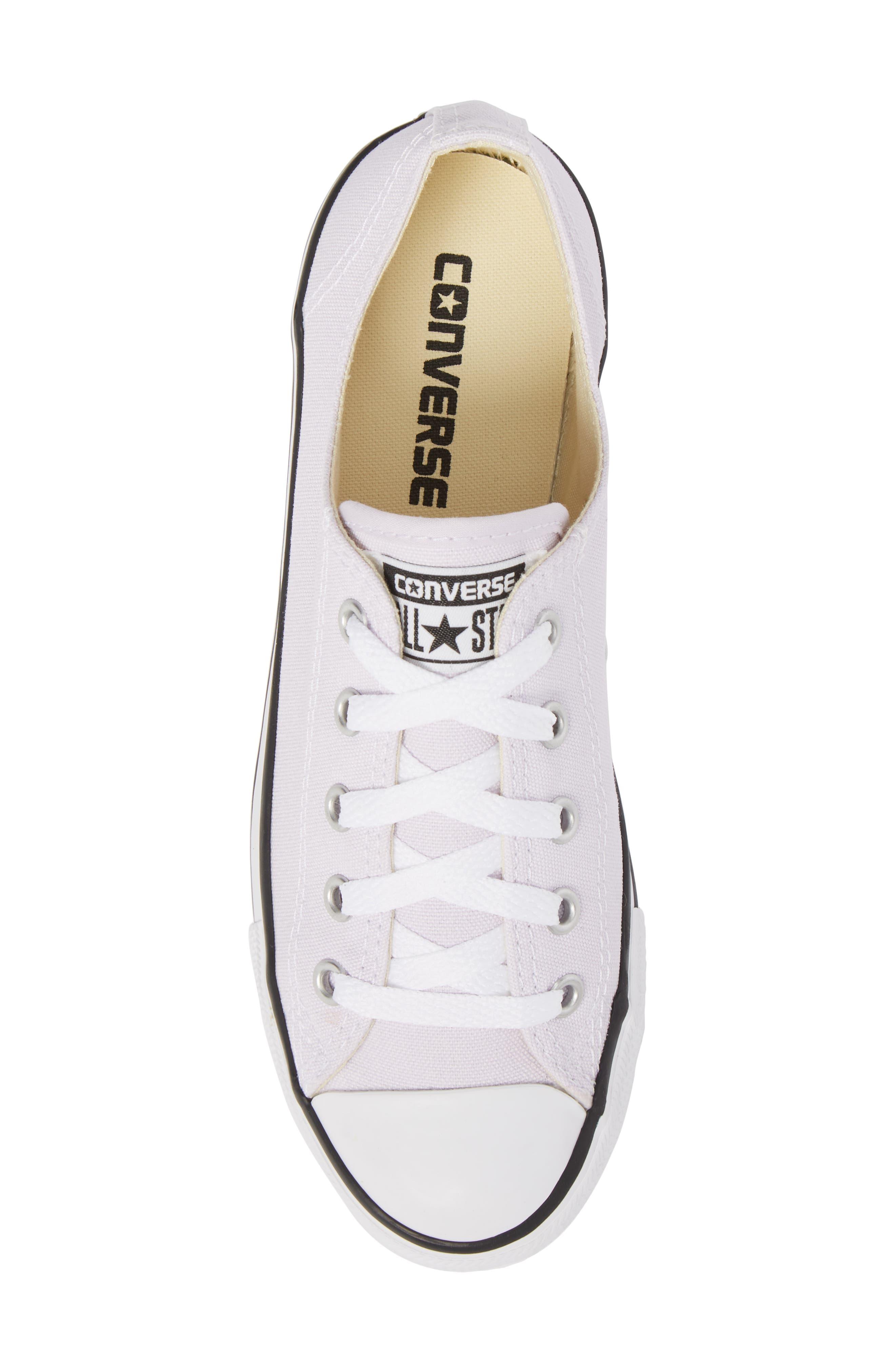 Alternate Image 5  - Converse Chuck Taylor® All Star® Dainty Ox Low Top Sneaker (Women)
