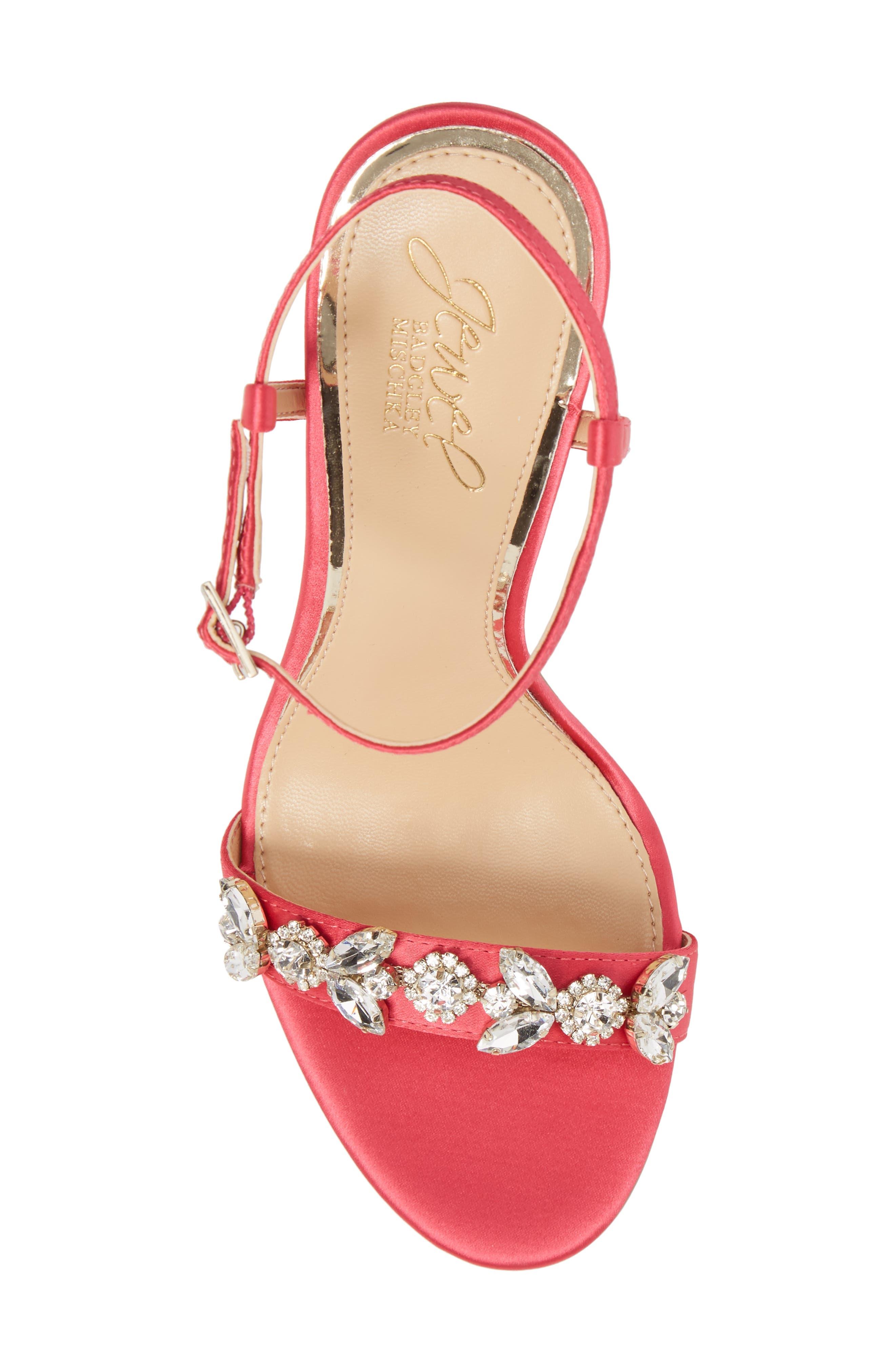 Alternate Image 5  - Jewel Badgley Mischka Tex Ankle Strap Sandal (Women)