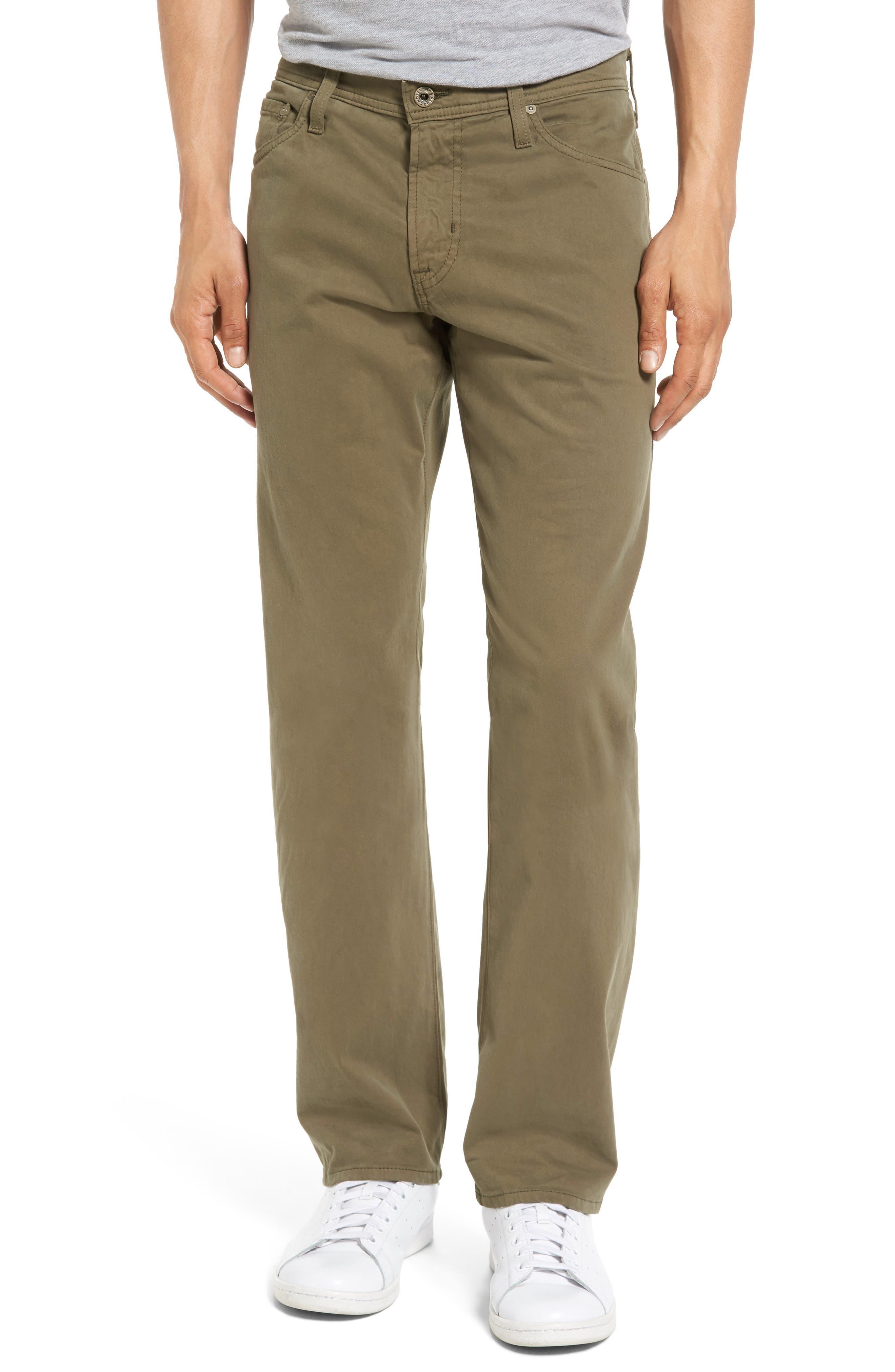 Graduate SUD Slim Straight Leg Pants,                             Main thumbnail 1, color,                             Caper Leaf