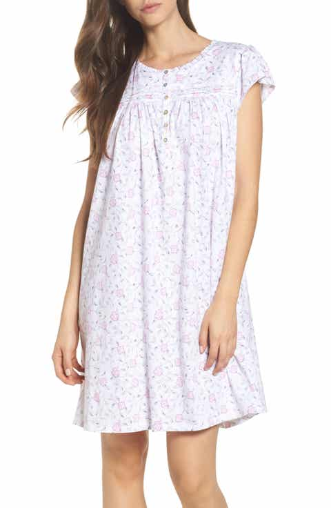 Eileen West Cotton Jersey Nightgown