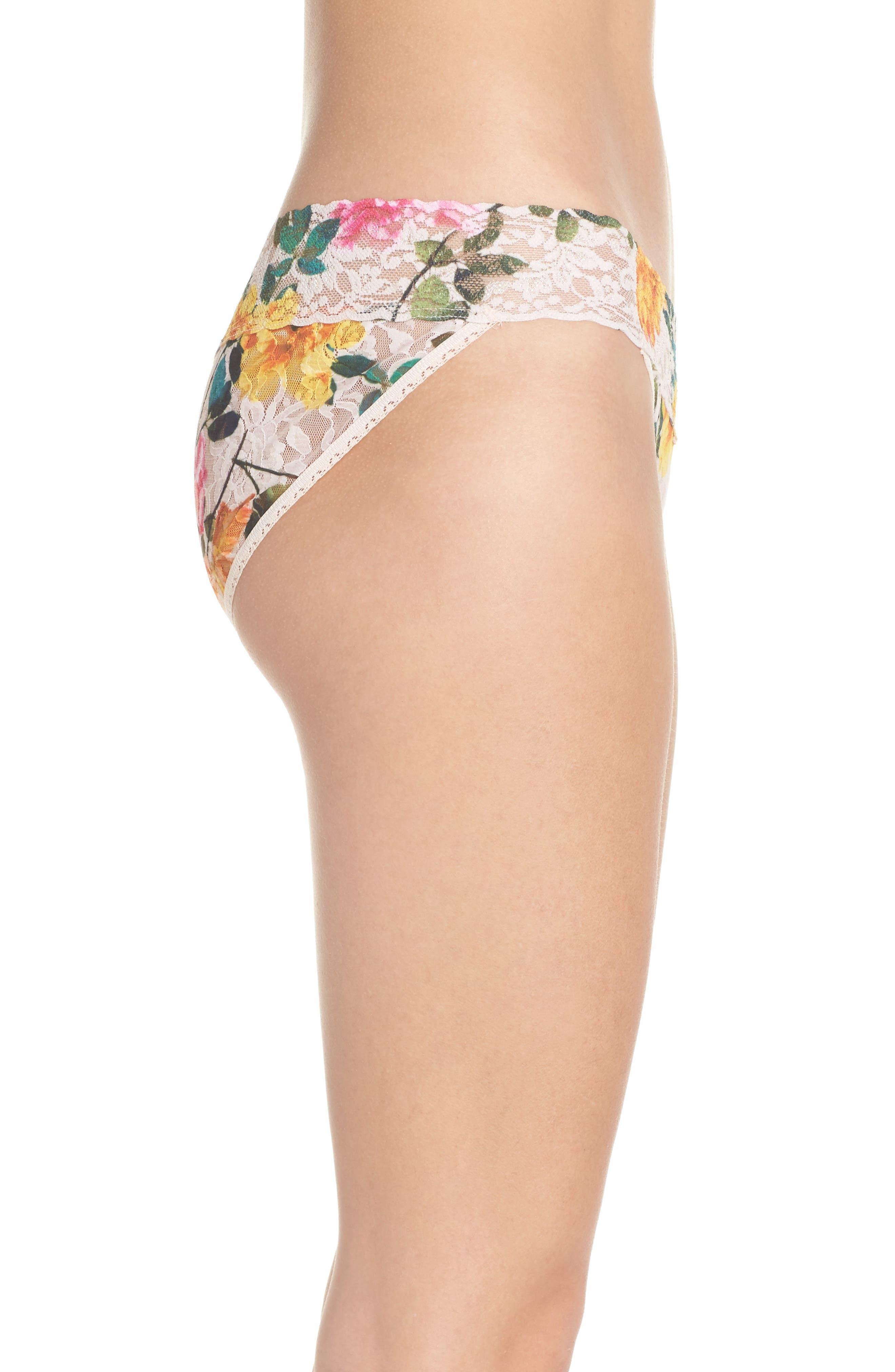 Alternate Image 3  - Hanky Panky Print V-Kini Bikini