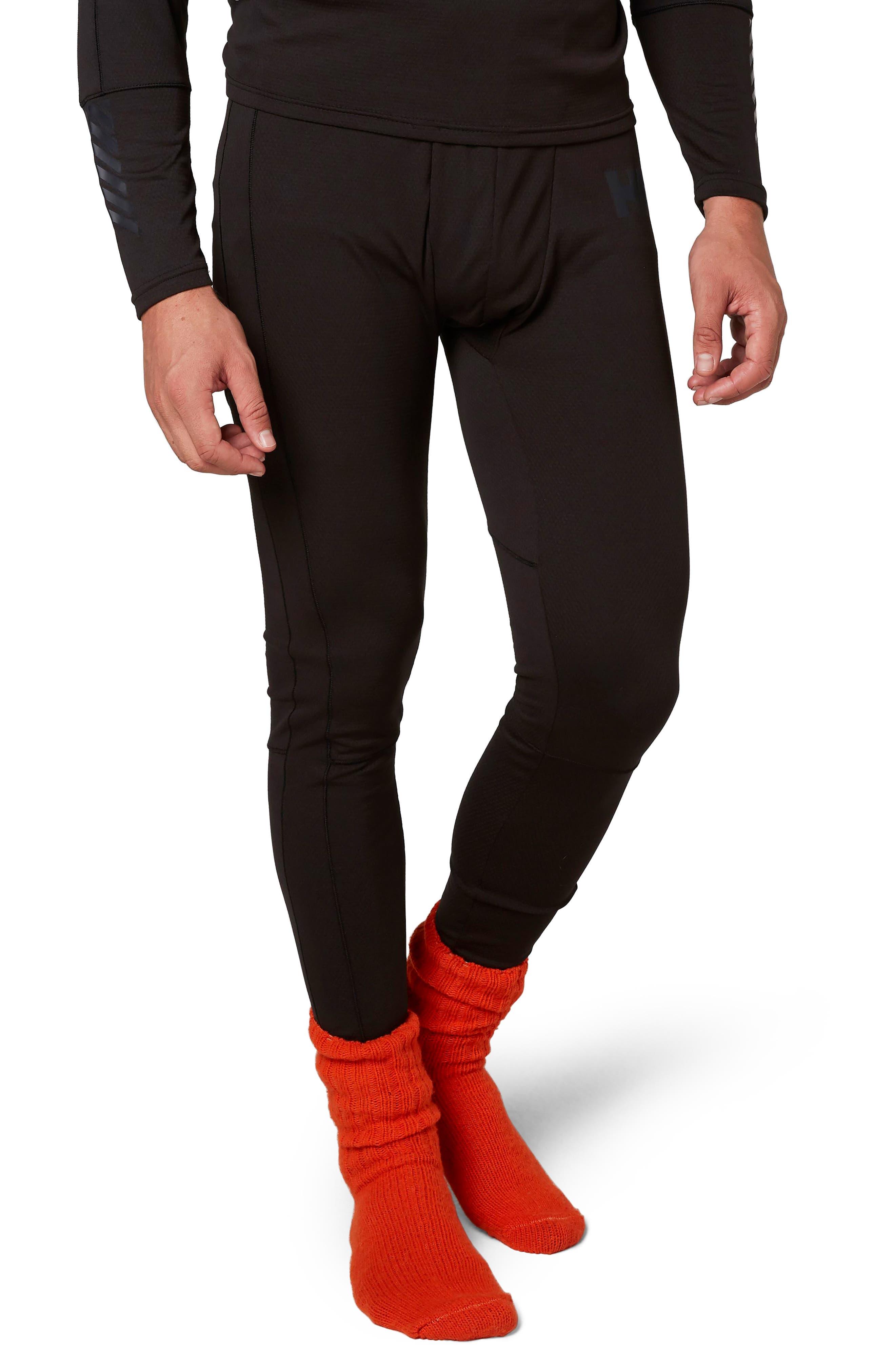 Lifa<sup>®</sup> Mid Base Layer Leggings,                         Main,                         color, Black