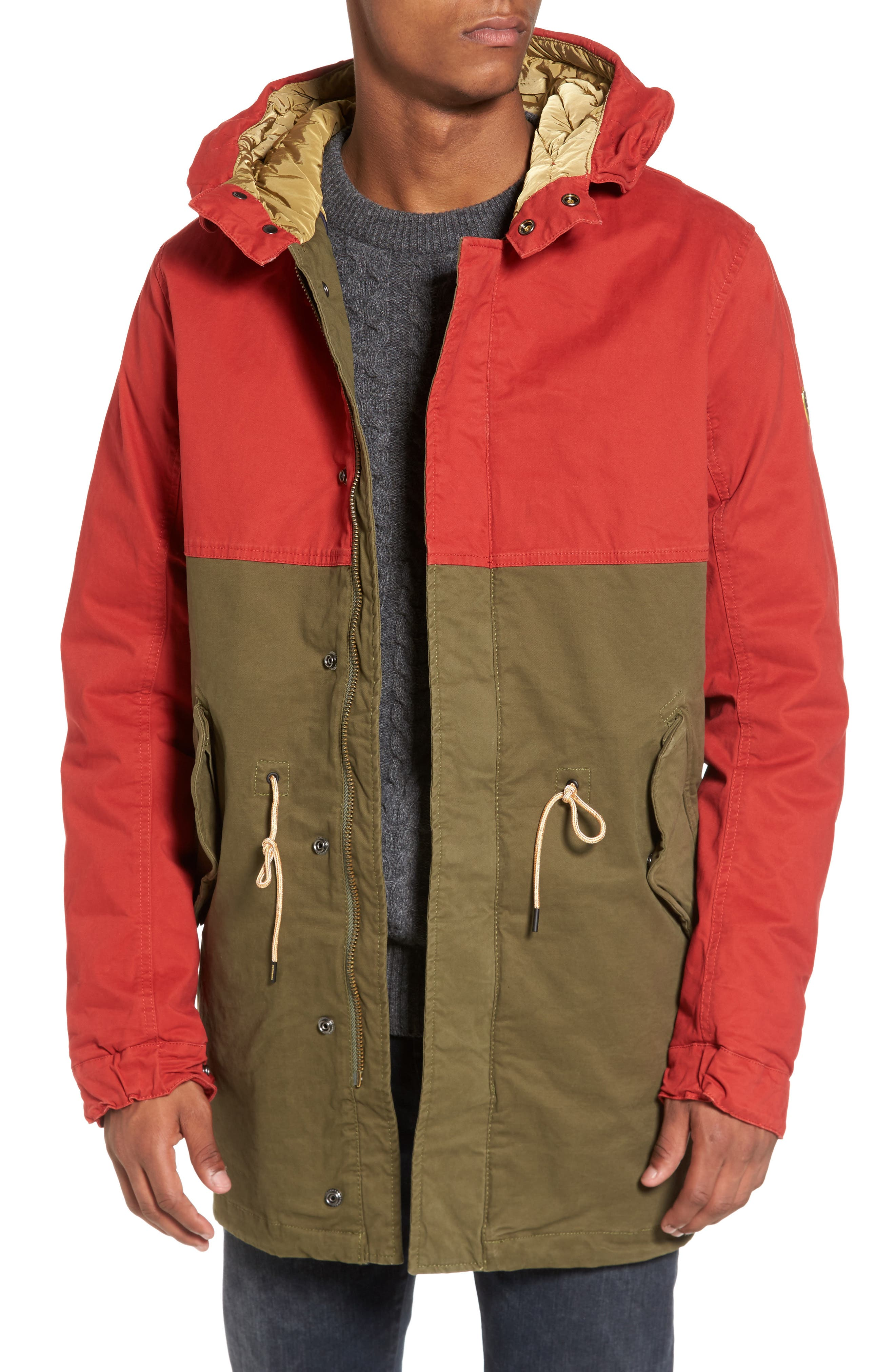 Main Image - Scotch & Sode Long Hooded Parka