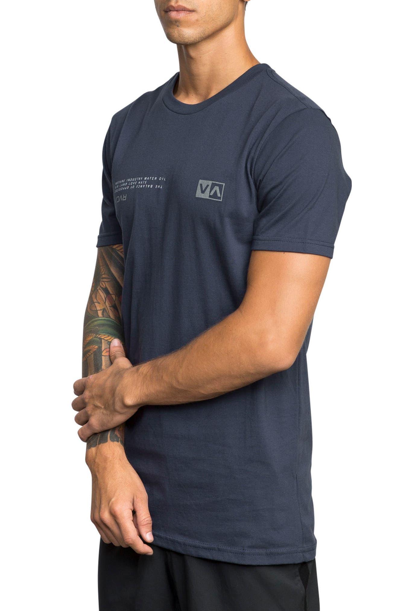 Balance Reflect T-Shirt,                             Alternate thumbnail 3, color,                             Classic Indigo