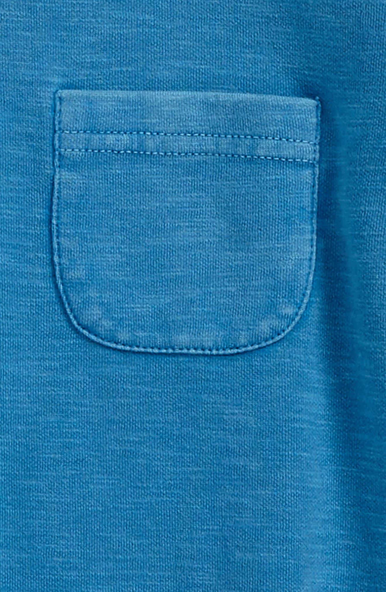 Interlock T-Shirt,                             Alternate thumbnail 2, color,                             Blue Cendre