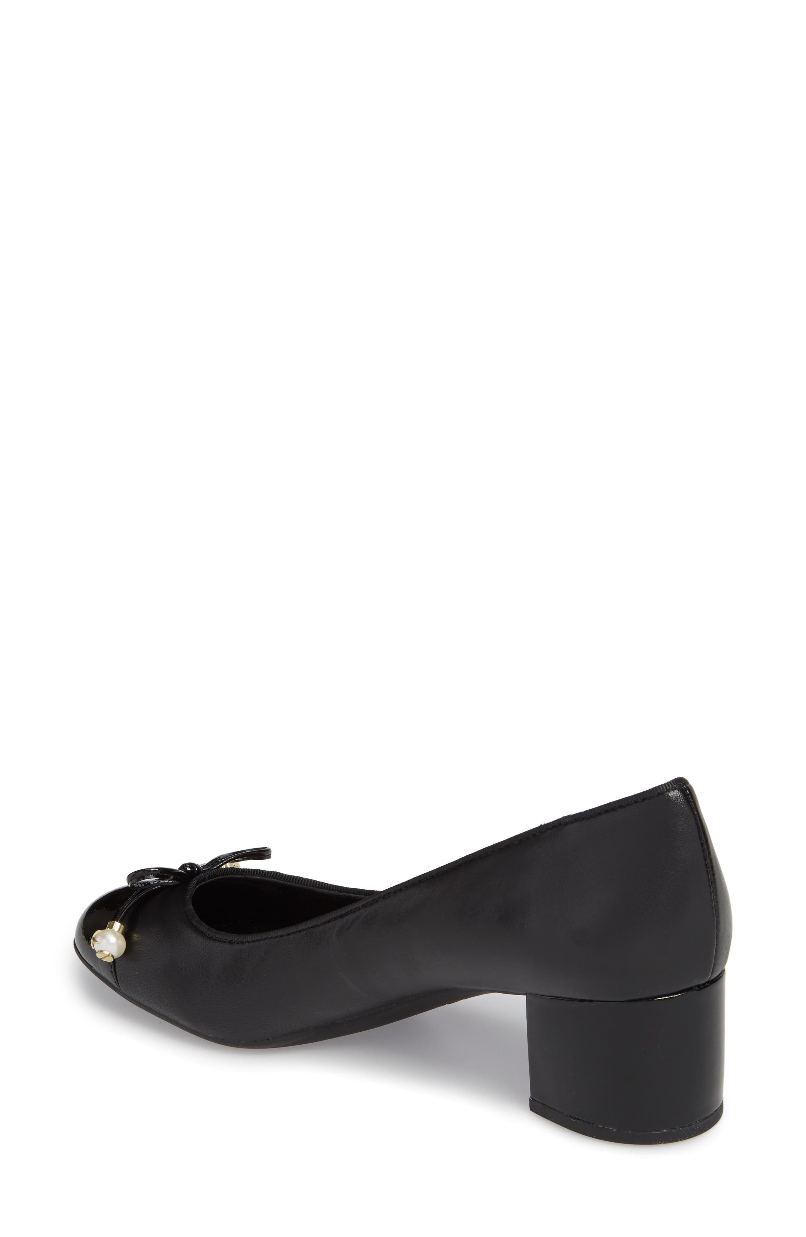 Gia Pump,                             Alternate thumbnail 2, color,                             Black Nappa Leather