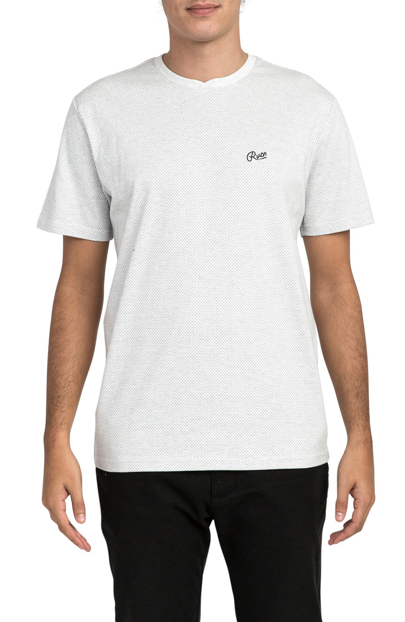 Points T-Shirt,                         Main,                         color, Snow Marle