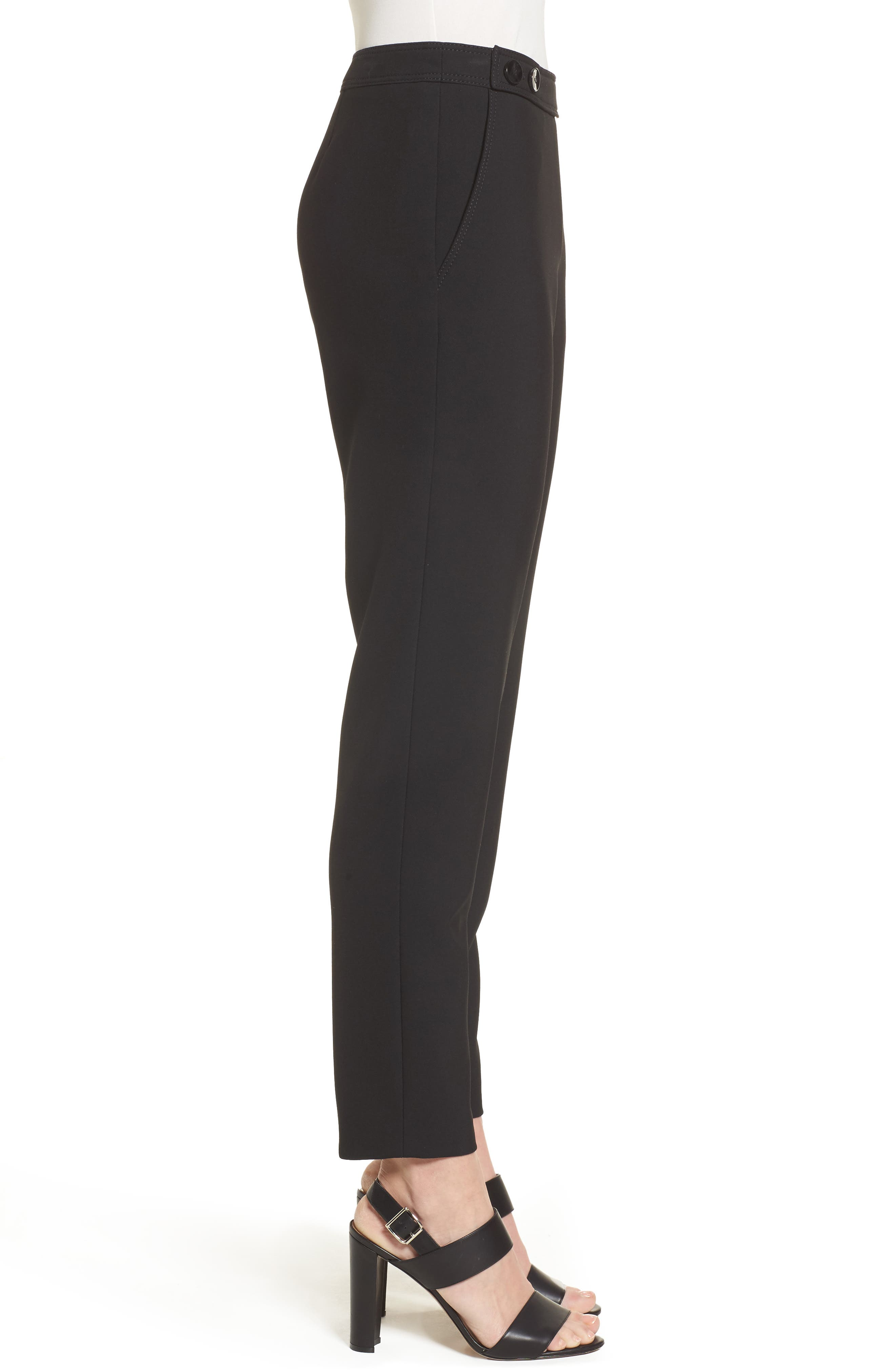 Alternate Image 3  - BOSS Tiokenia Slim Leg Trousers (Regular & Petite)