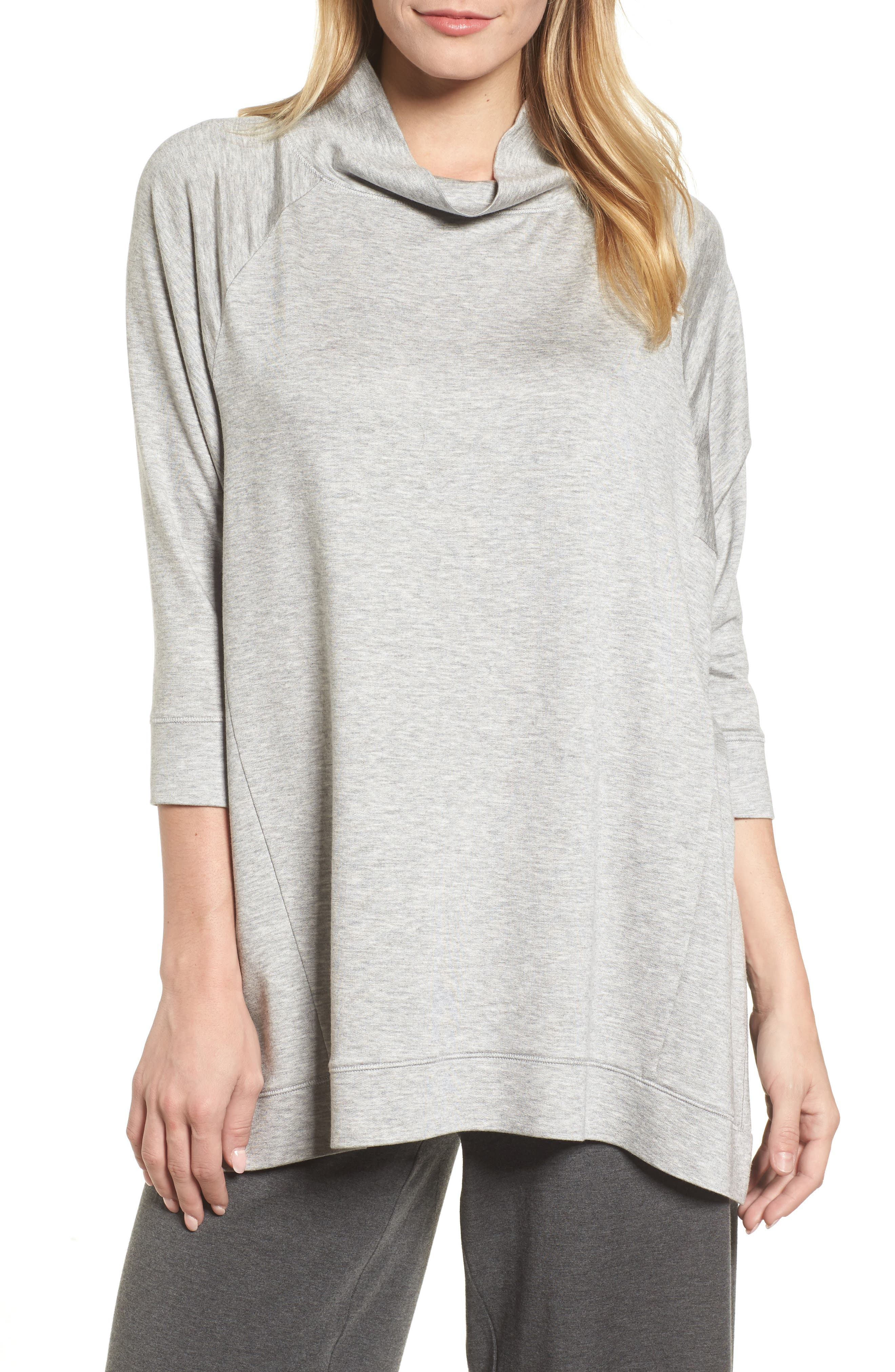 Main Image - Eileen Fisher Funnel Neck Top