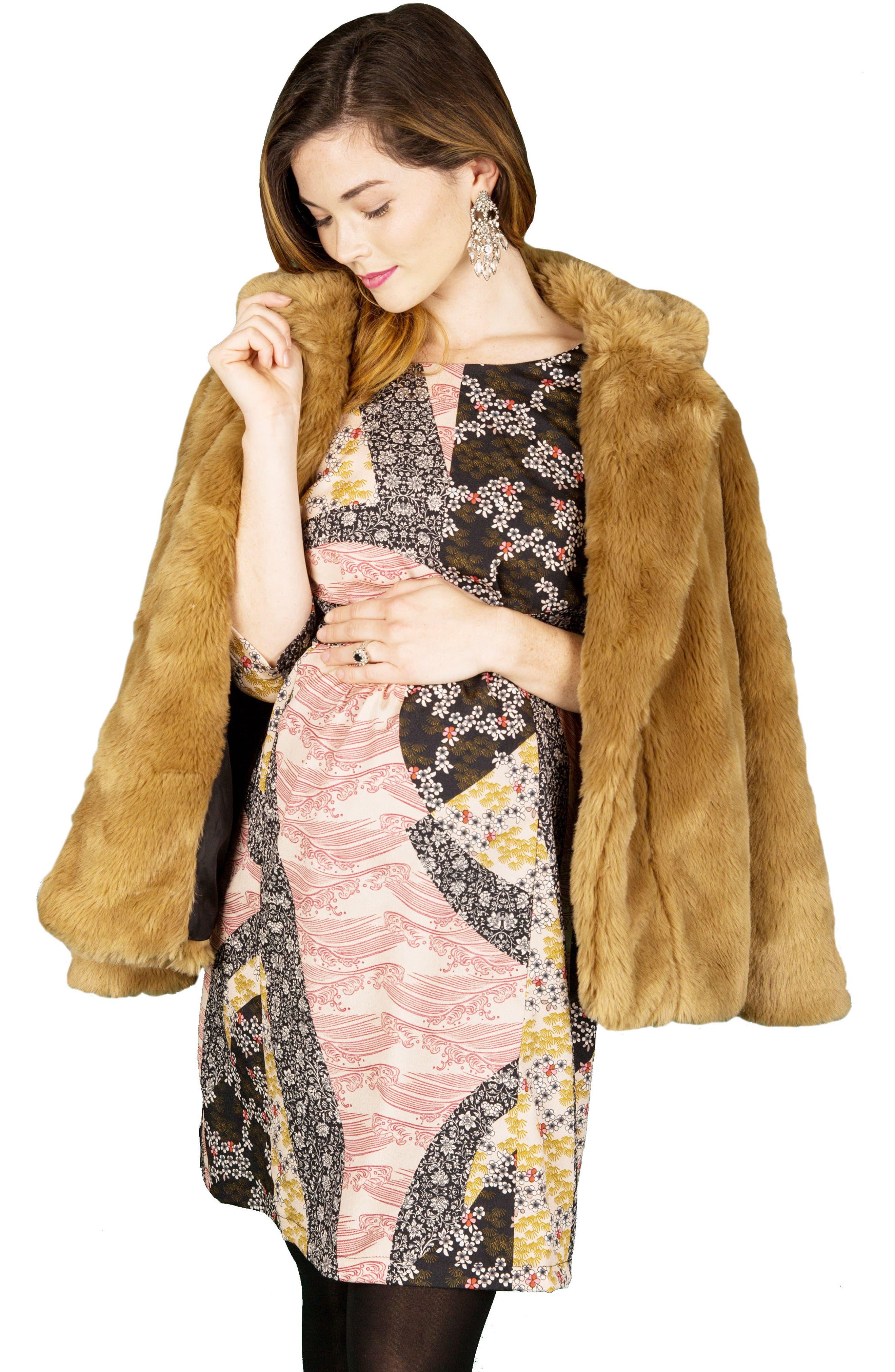 Alternate Image 4  - Nom Maternity Dorothy Maternity Dress