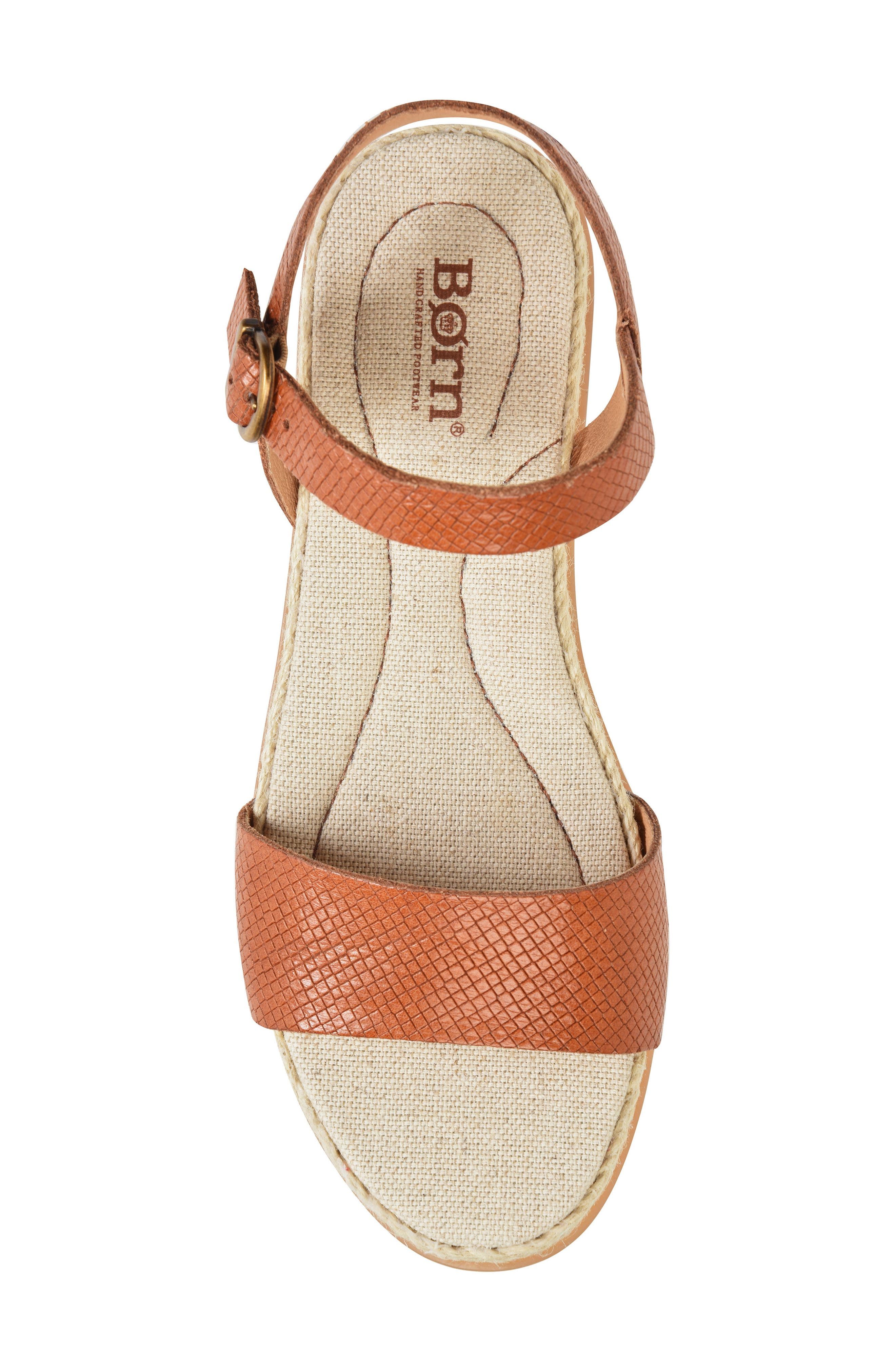 Welch Sandal,                             Alternate thumbnail 5, color,                             Brown Leather