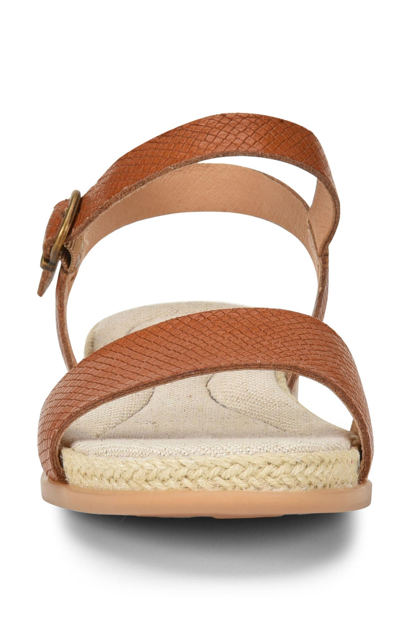Welch Sandal,                             Alternate thumbnail 4, color,                             Brown Leather