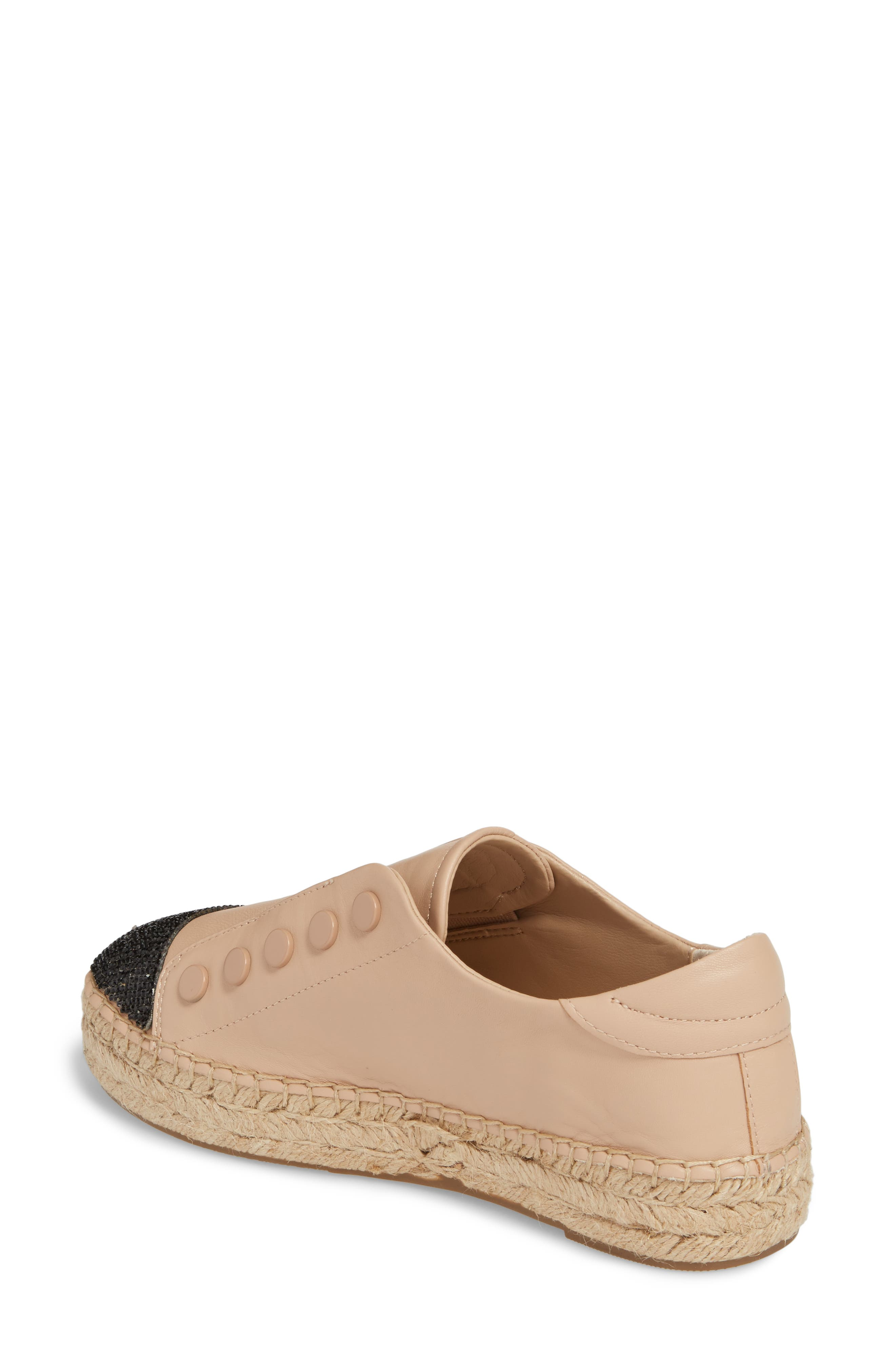 Juniper Espadrille Sneaker,                             Alternate thumbnail 2, color,                             Light Latte