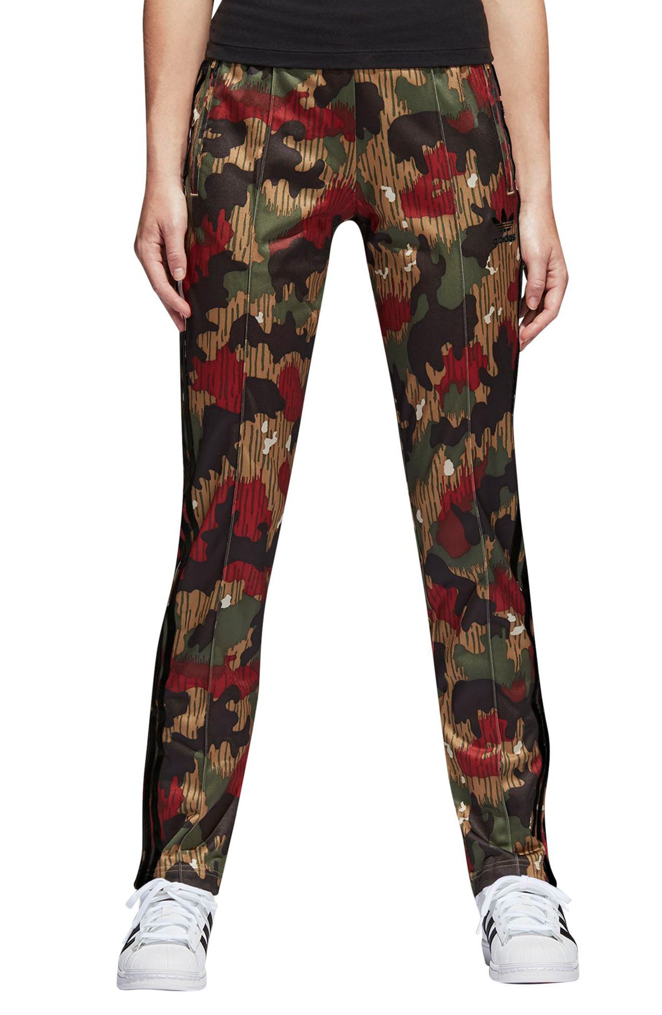 Originals Pharrell Williams Hu Hiking Pants,                             Main thumbnail 1, color,                             Swiss Camo