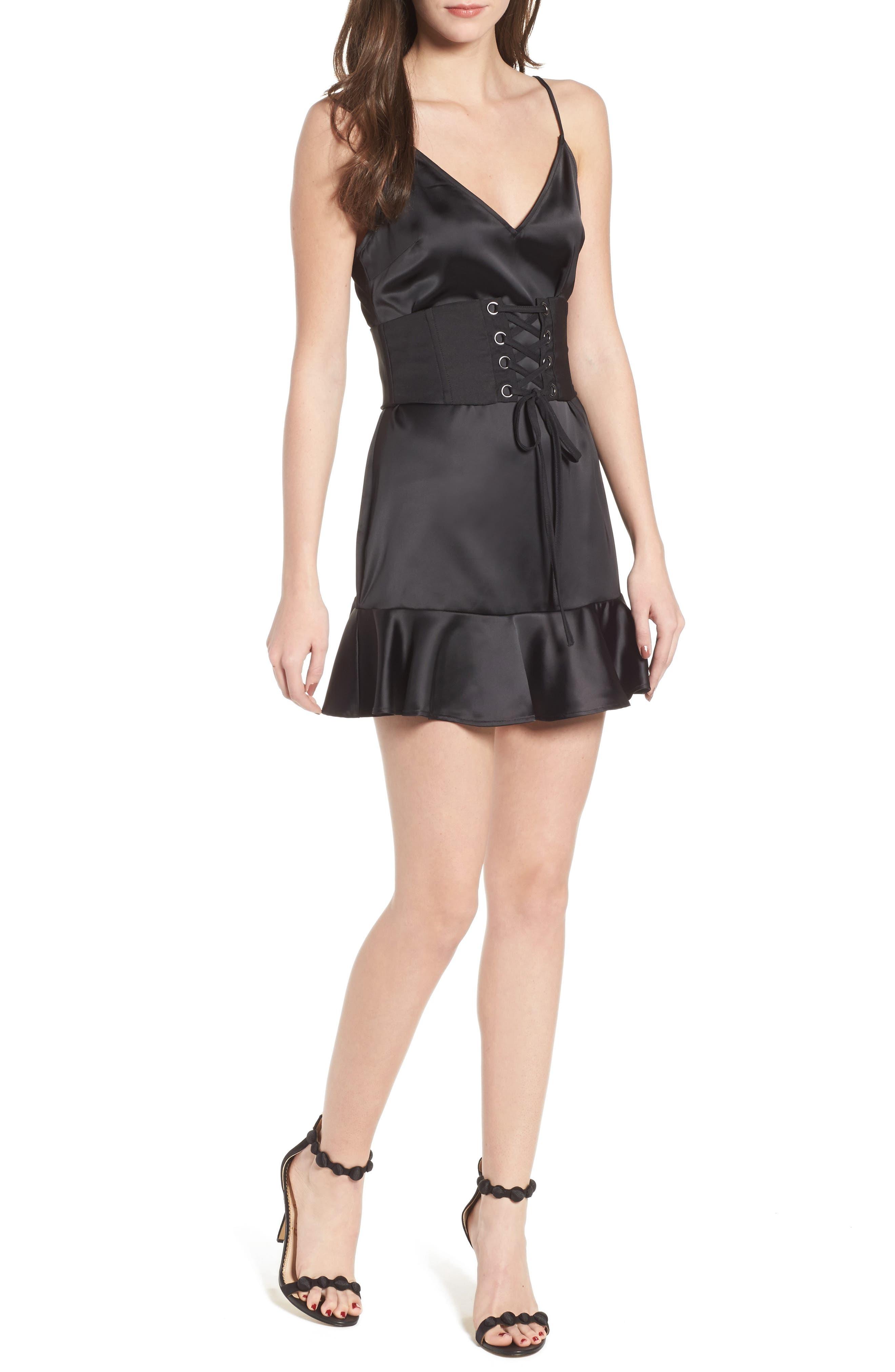 Annie Minidress,                         Main,                         color, Black