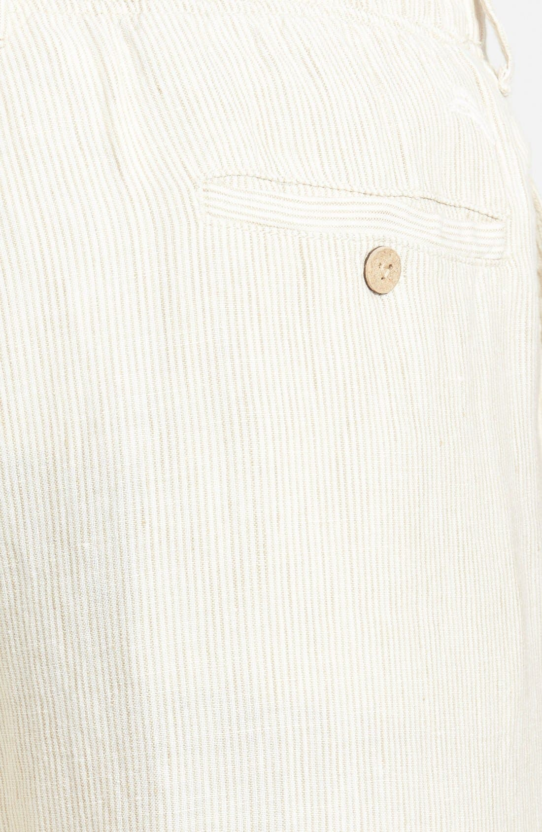 Alternate Image 3  - Tommy Bahama 'Line of the Times' Linen Pants