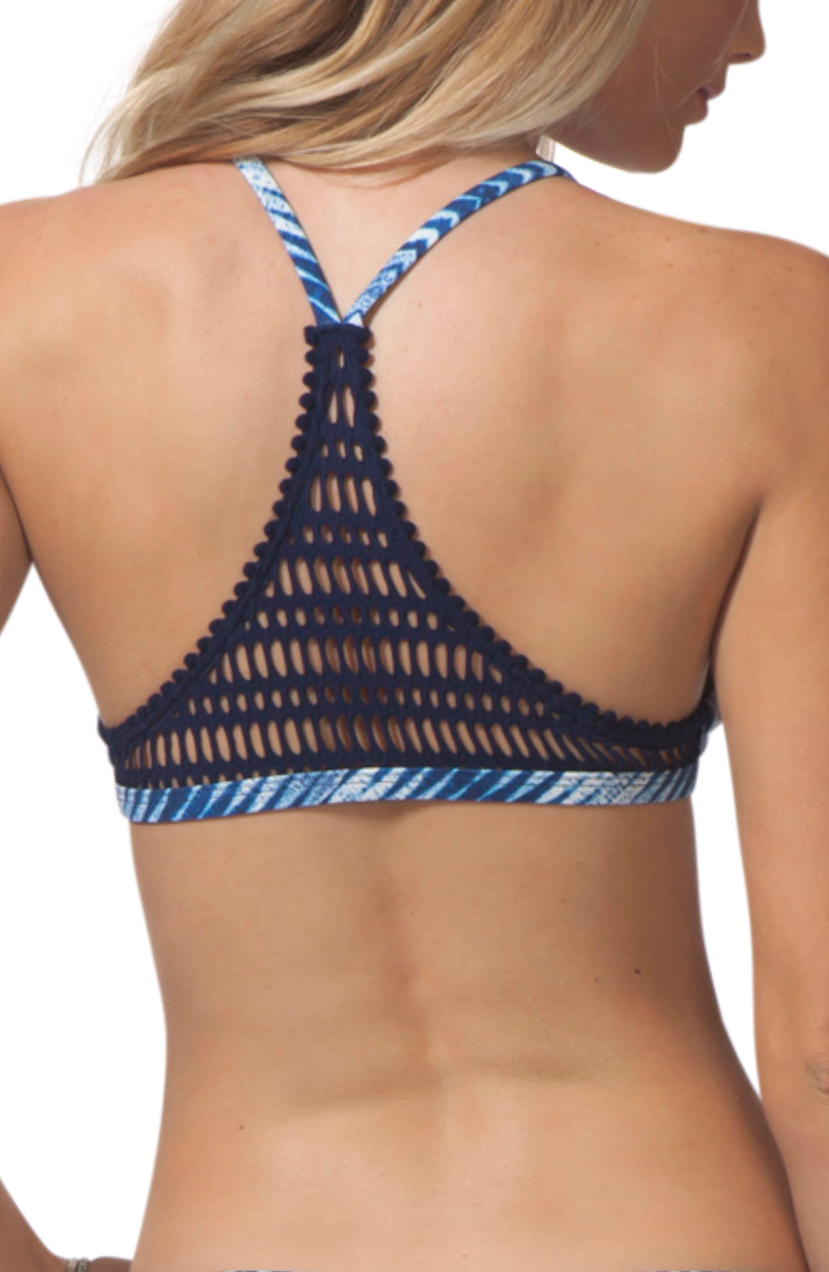 Last Light Bralette Bikini Top,                             Alternate thumbnail 2, color,                             Blue