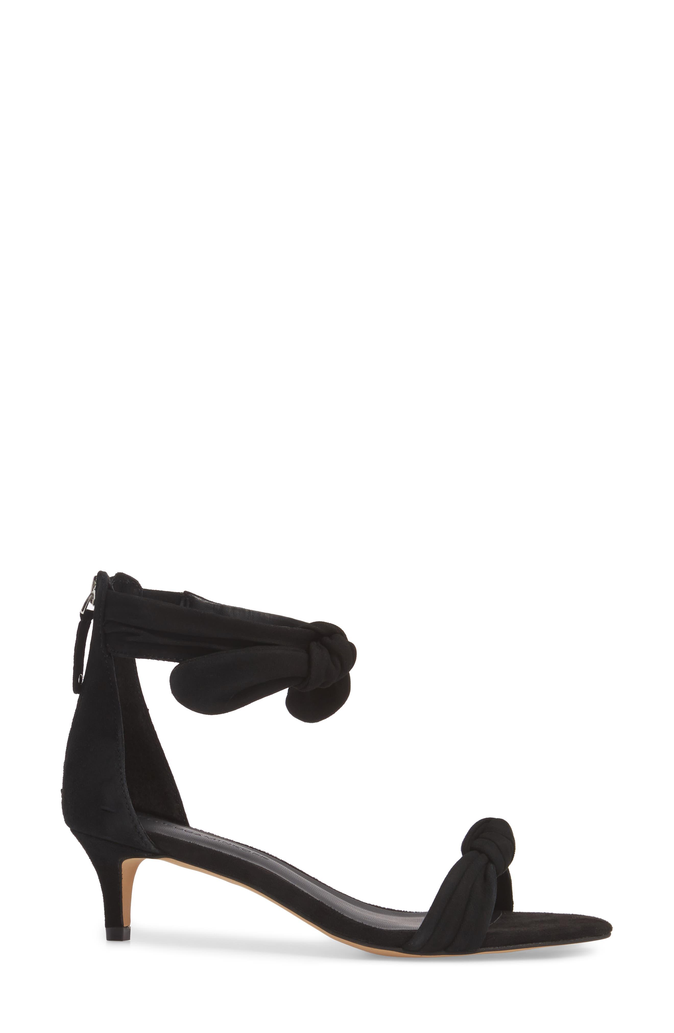 Alternate Image 3  - Rebecca Minkoff Kaley Knotted Kitten Heel Sandal (Women)