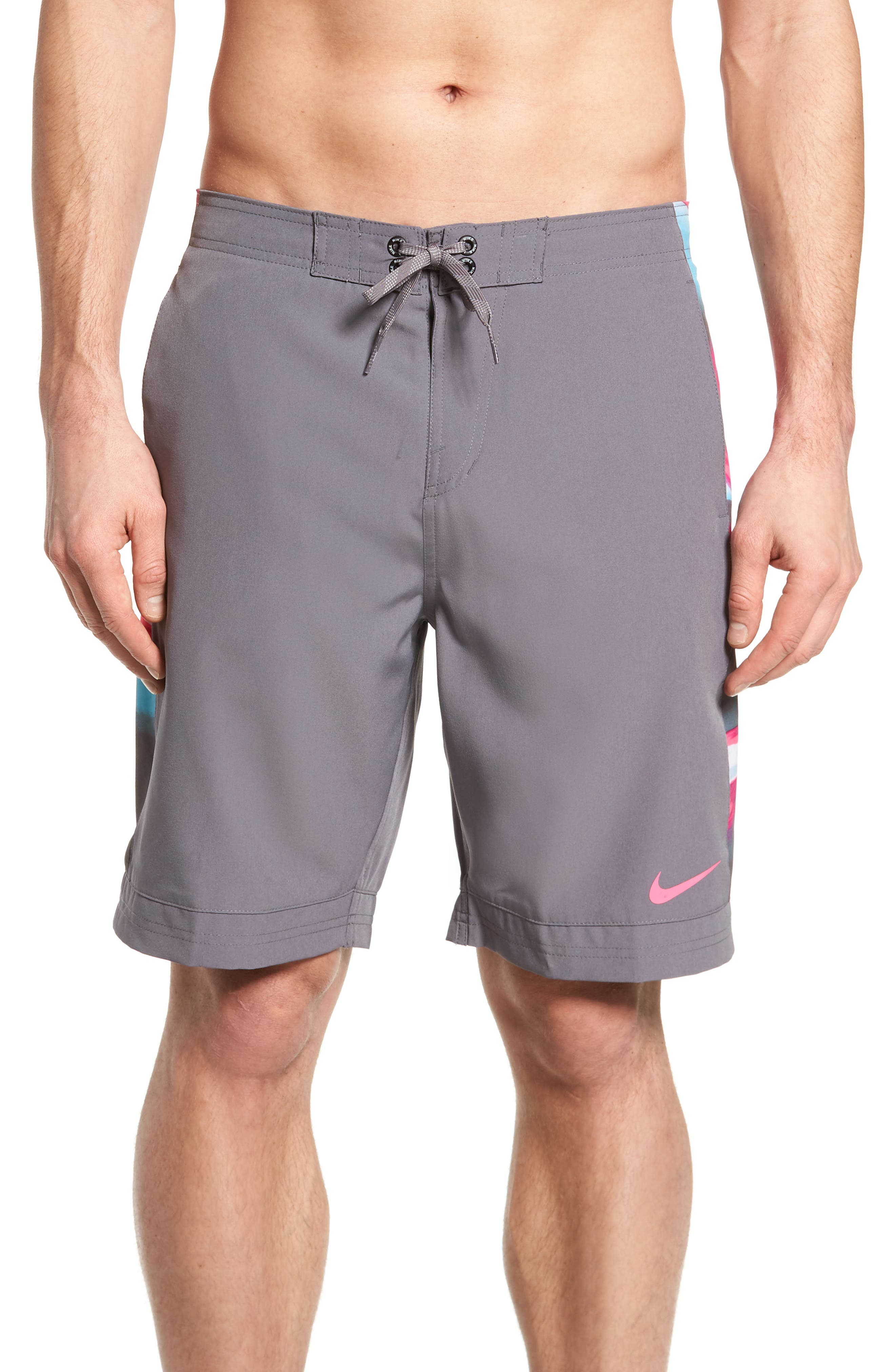 Racer Board Shorts,                         Main,                         color, Gunsmoke