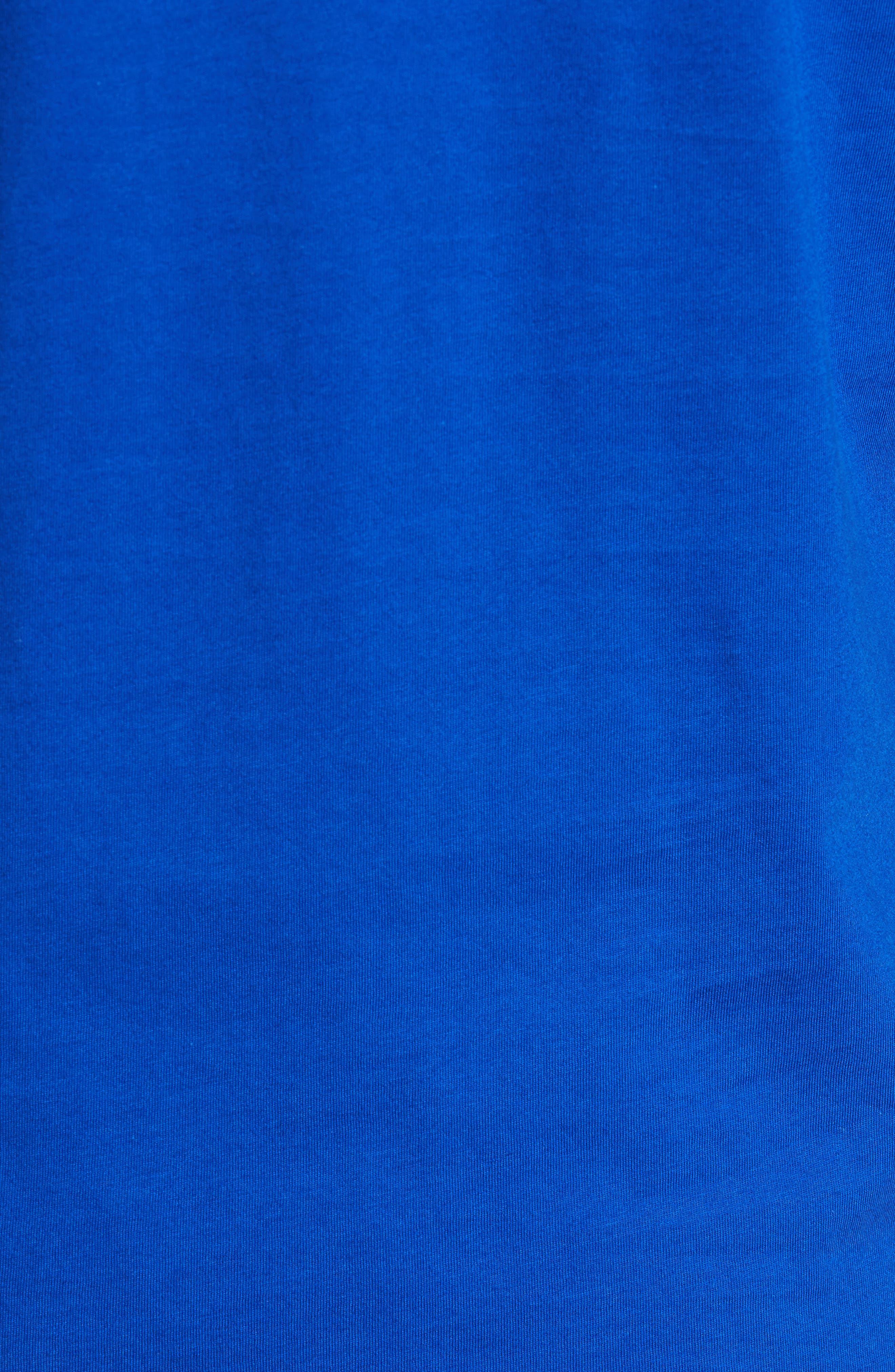 Polo Ralph Lauren Crewneck T-Shirt,                             Alternate thumbnail 5, color,                             Sapphire Star/ Crescent Cream