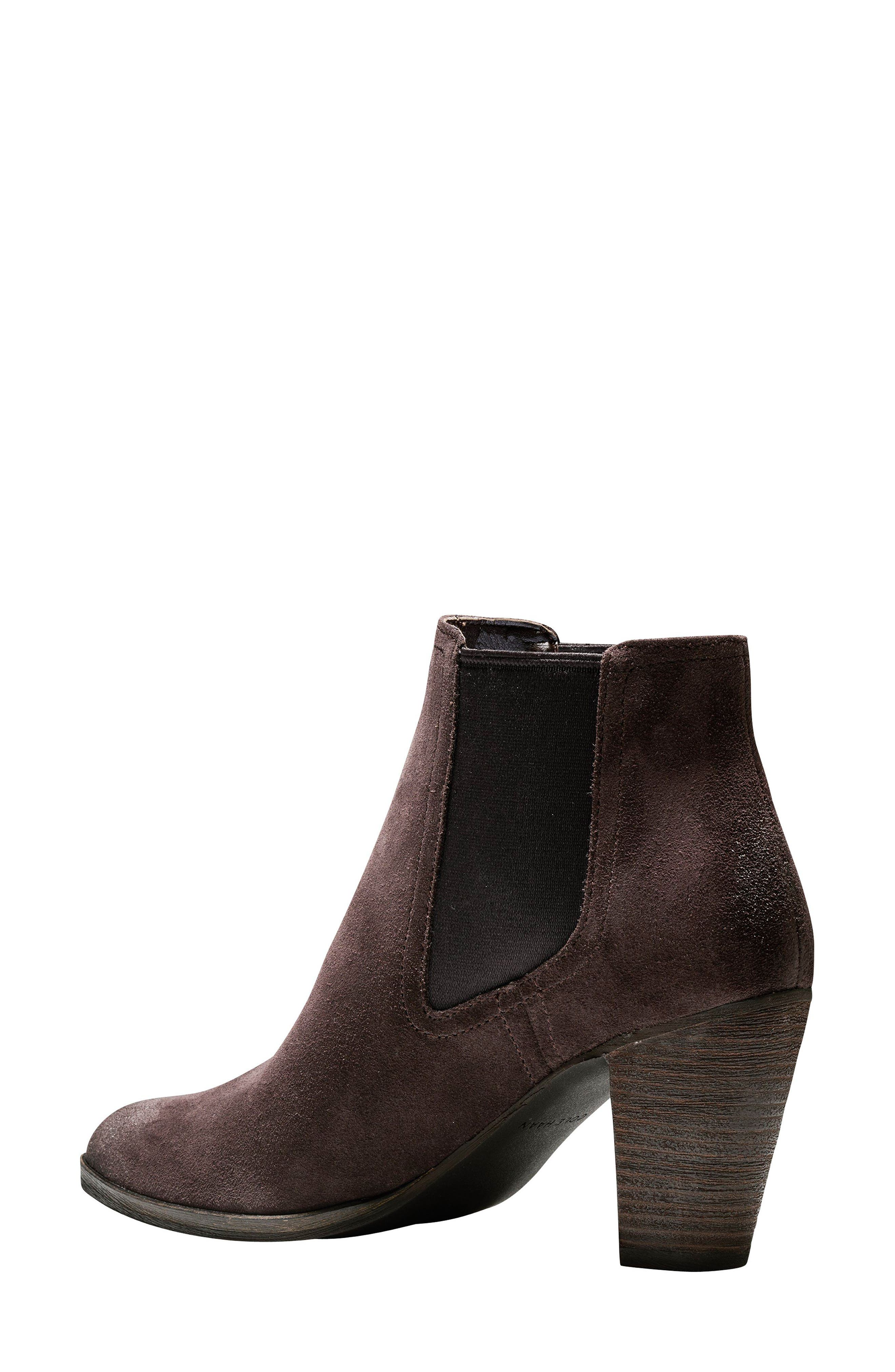 Hayes Chelsea Boot,                             Alternate thumbnail 2, color,                             Java Suede