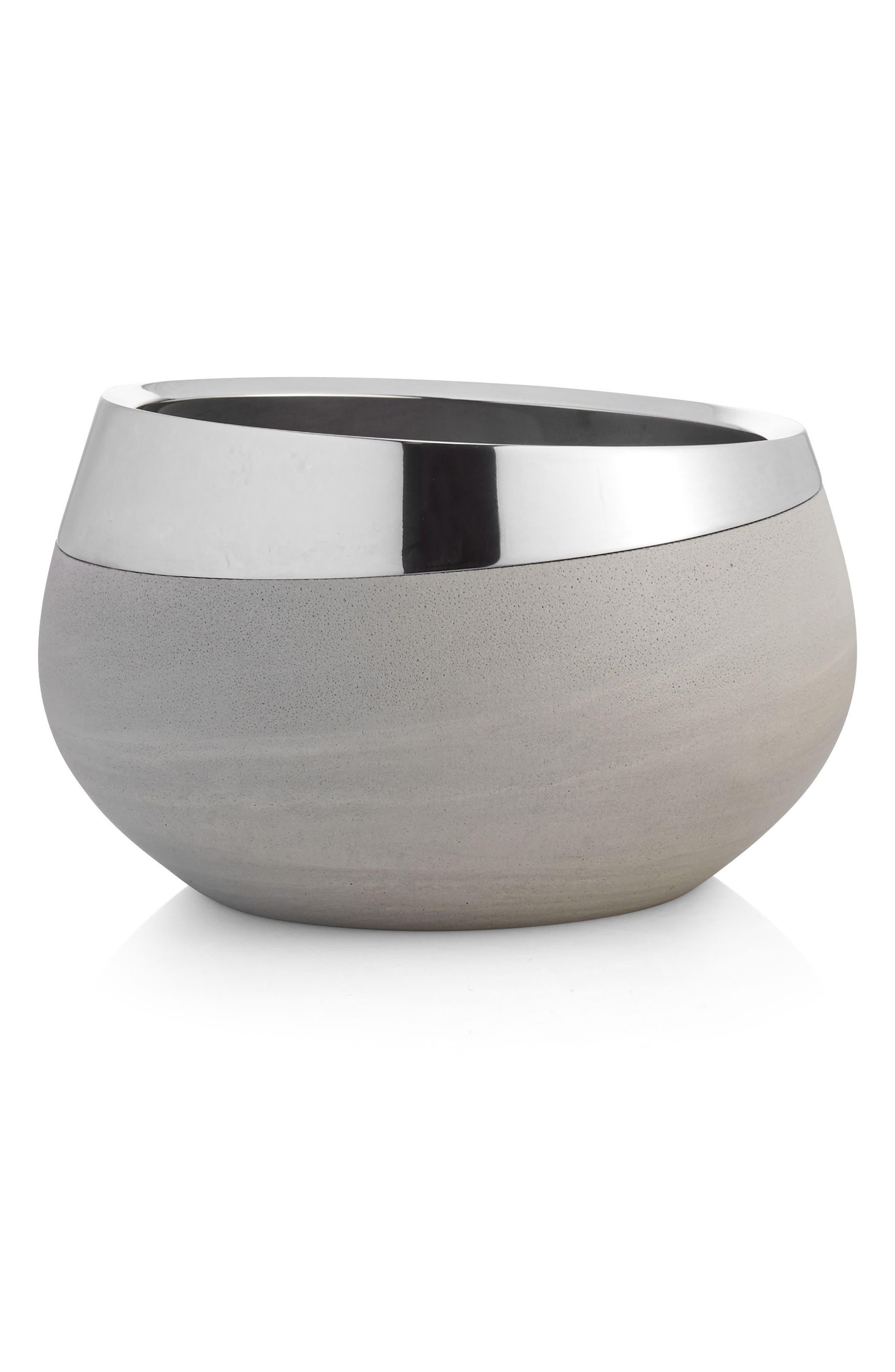 Nambé Forte Medium Bowl