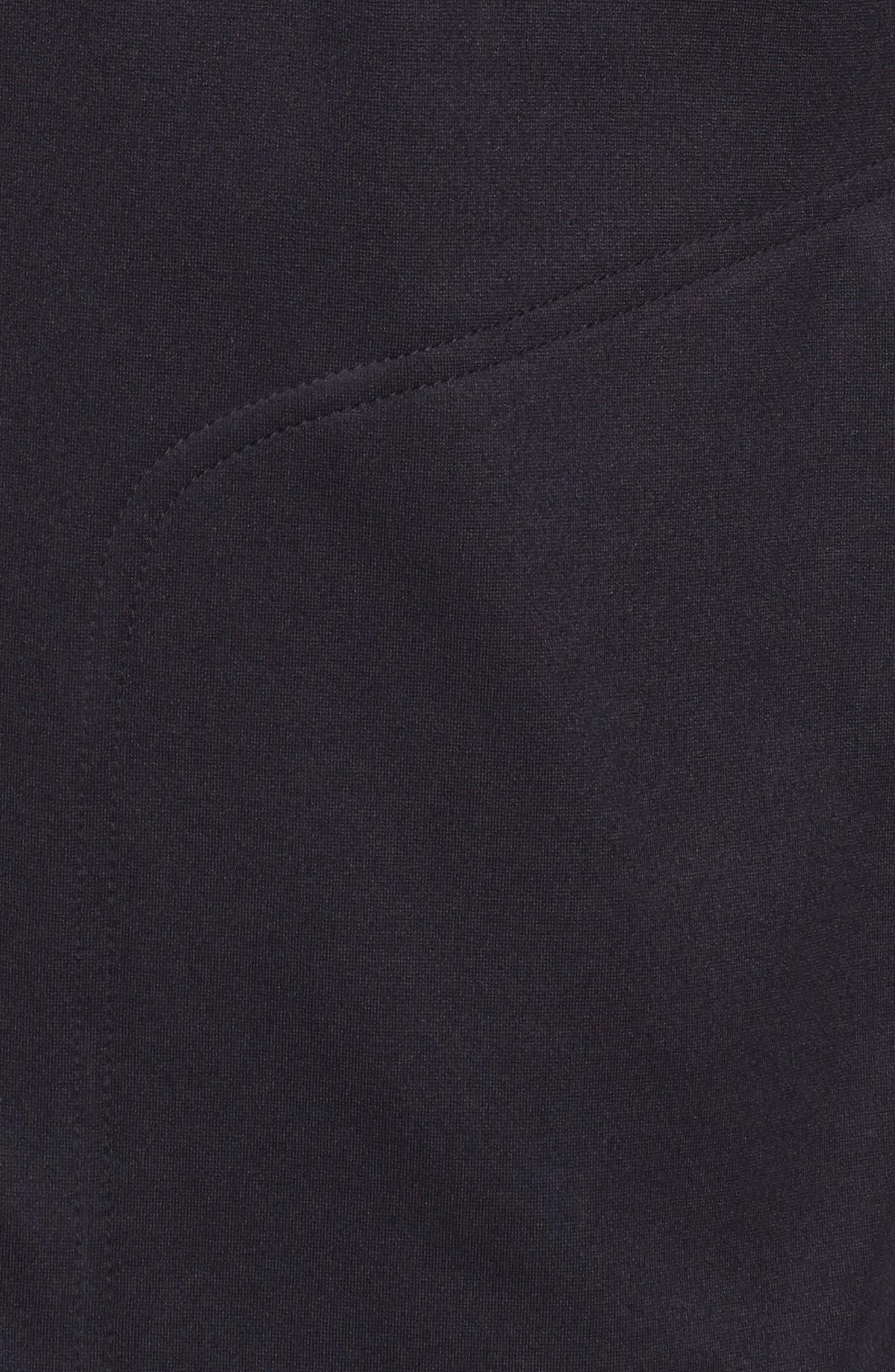 Wool Snap Jacket,                             Alternate thumbnail 5, color,                             Navy