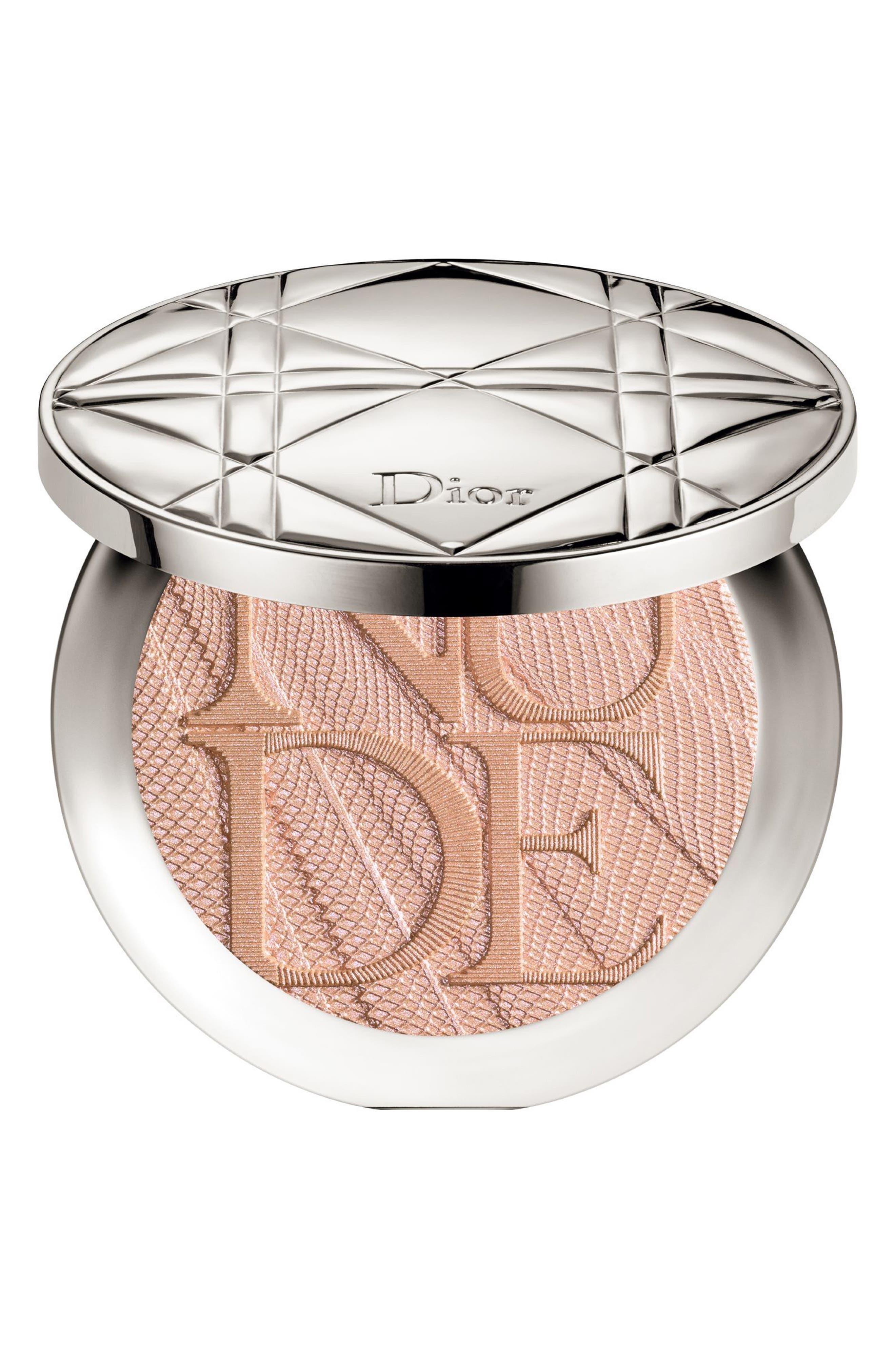 Main Image - Dior Diorskin Nude Air Luminizer Glow Addict Holographic Sculpting Powder