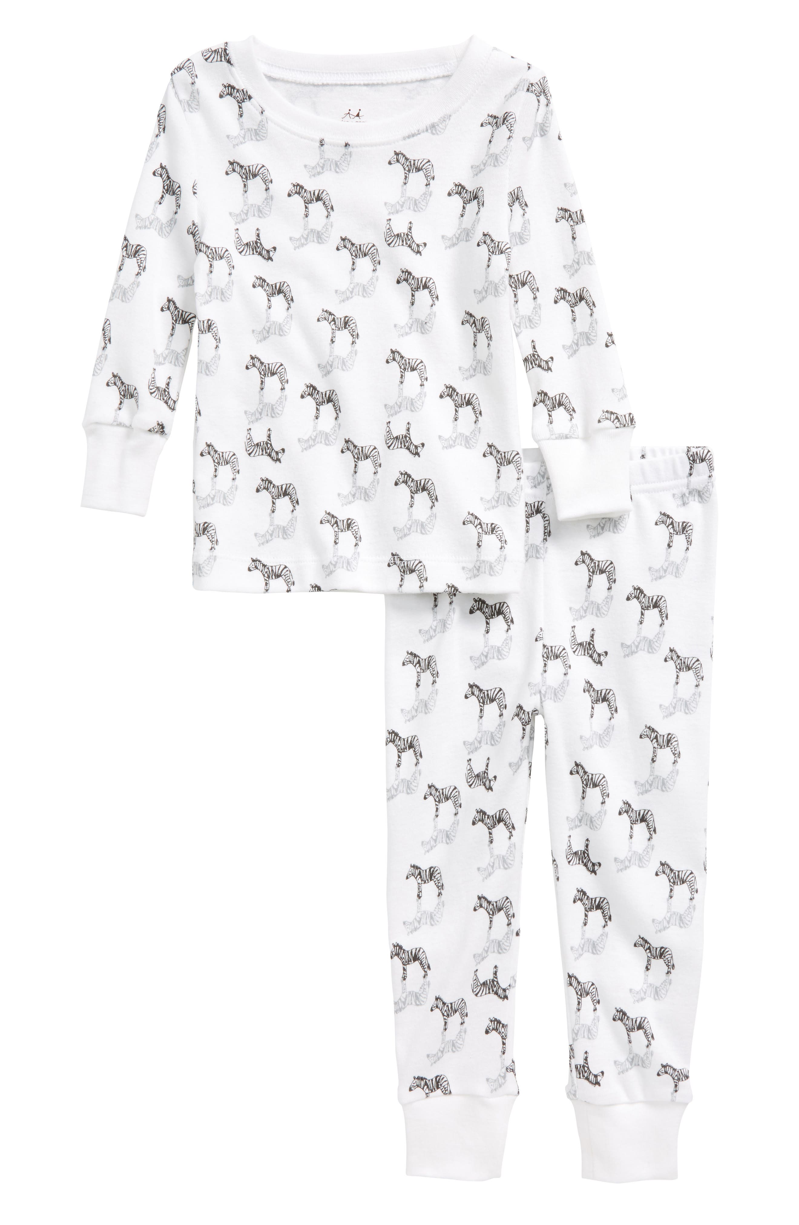 aden + anais Fitted Two-Piece Pajamas Set (Baby Boys)