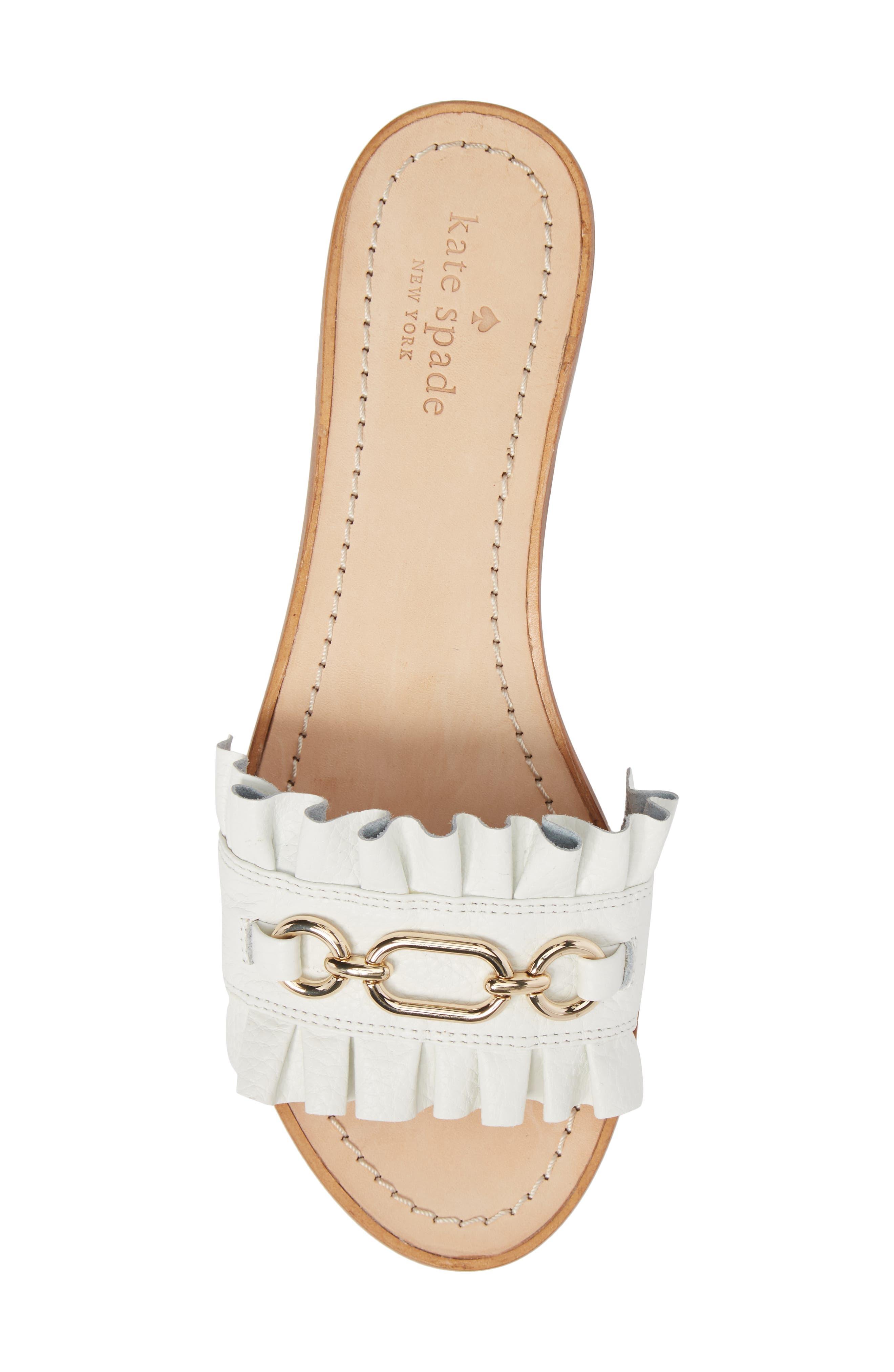 Alternate Image 5  - kate spade new york beau slide sandal (Women)