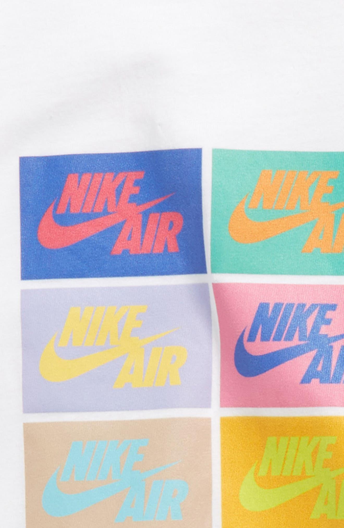 Sportswear Pop Art Graphic T-Shirt,                             Alternate thumbnail 2, color,                             White