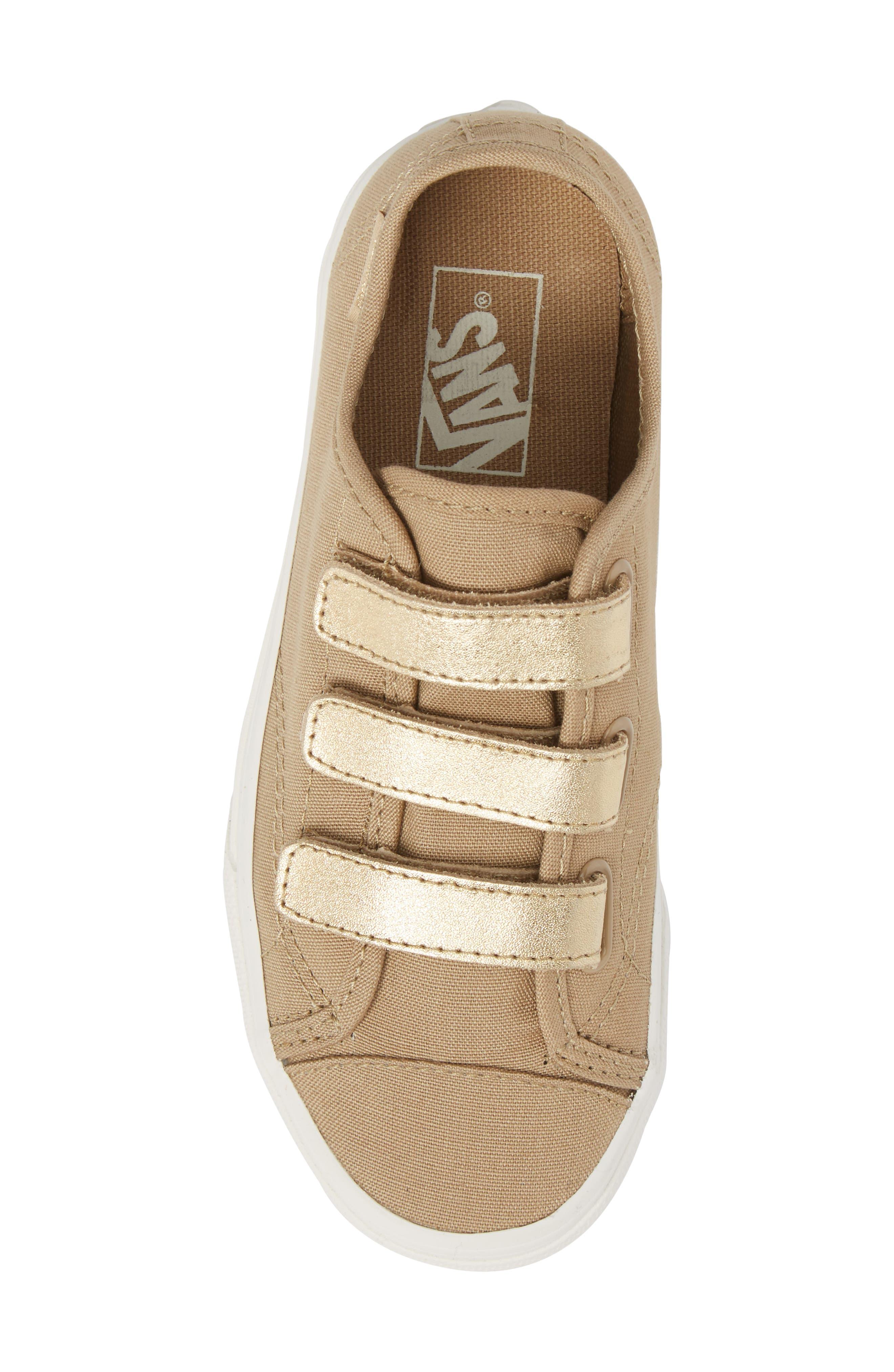 Style 23V Sneaker,                             Alternate thumbnail 5, color,                             Metallic/ Cornstalk