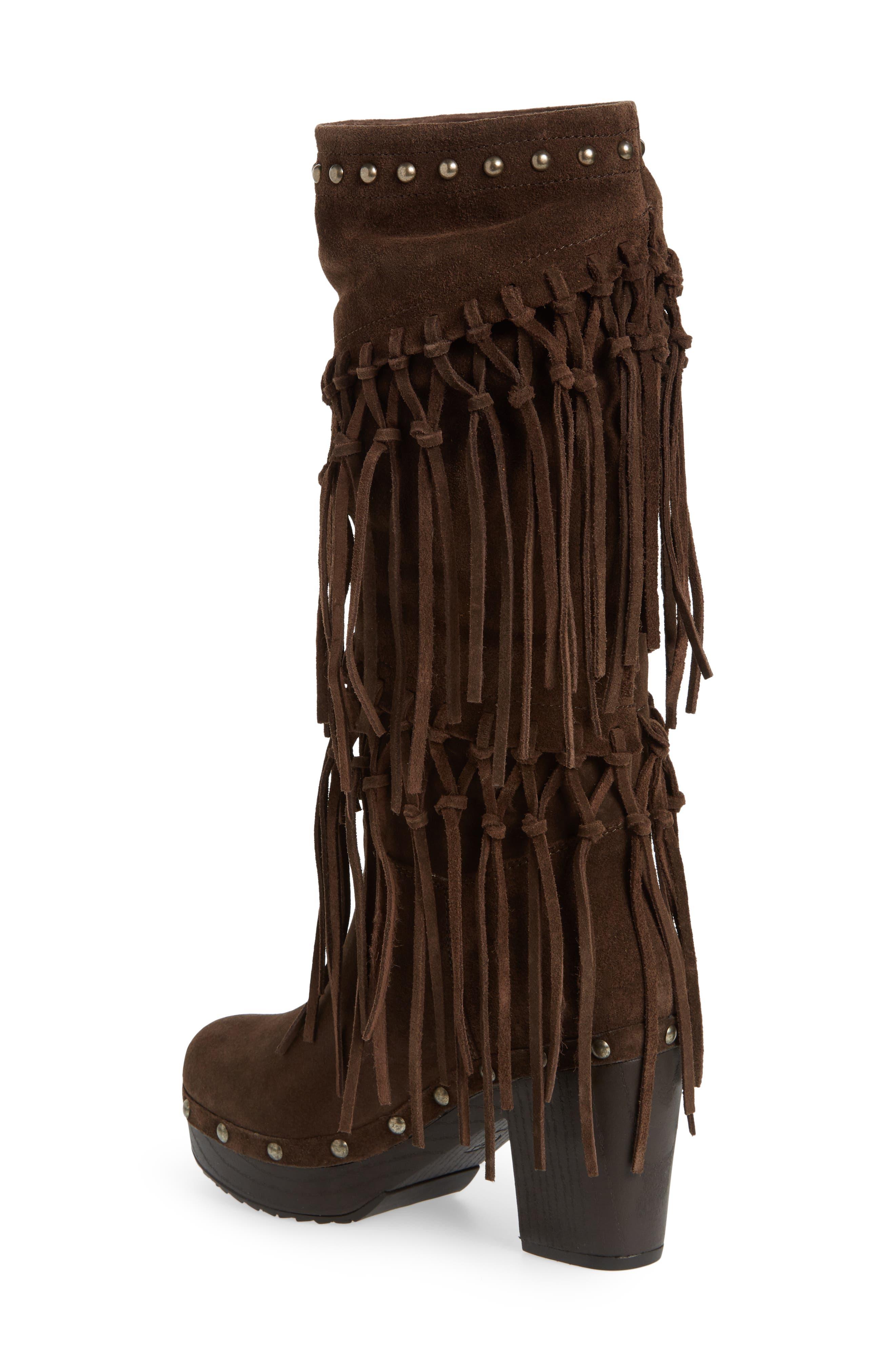 Alternate Image 2  - Ariat Music Row Fringe Boot (Women)