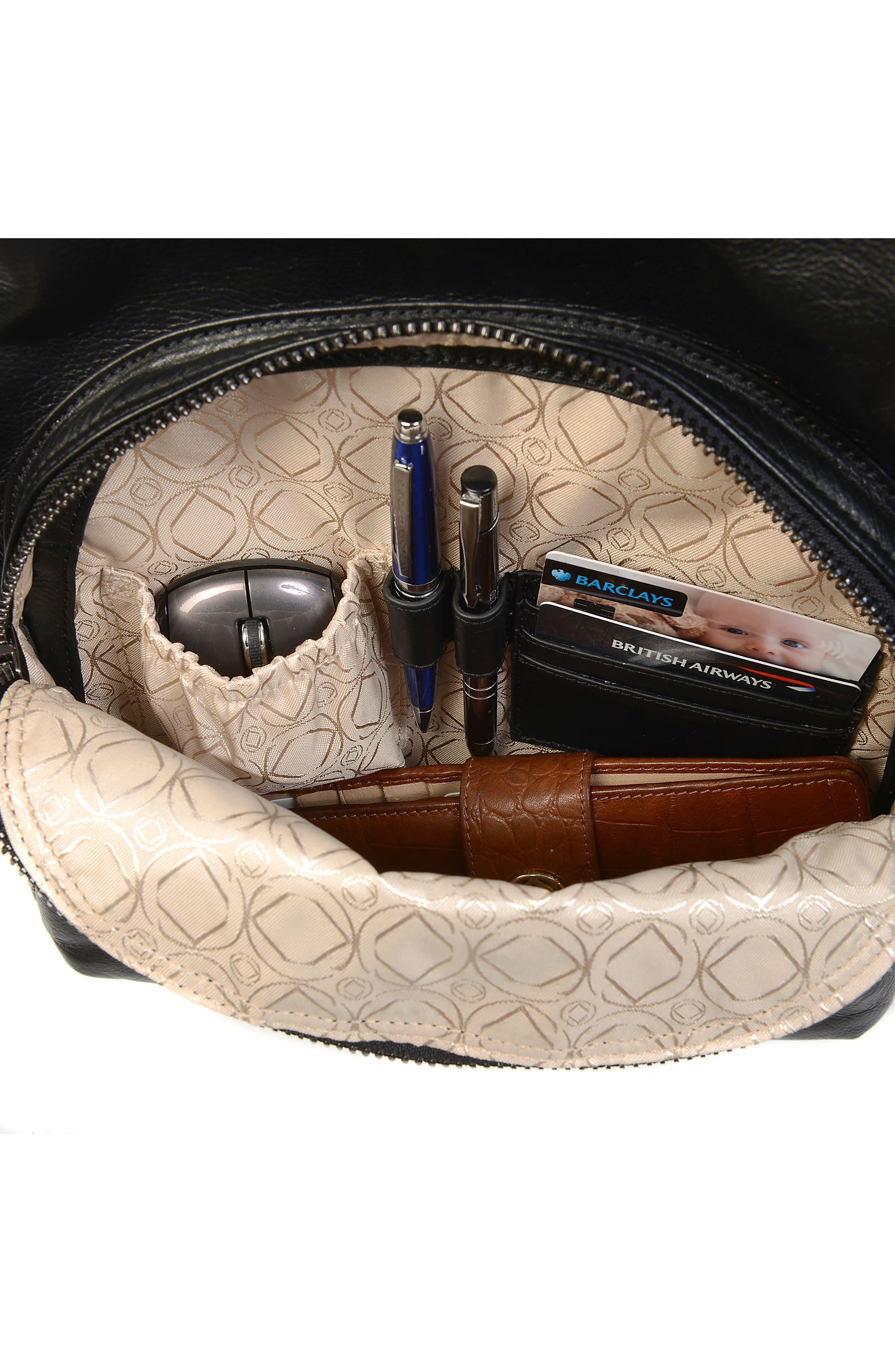 Alternate Image 8  - Kerikit Joy XL Leather Diaper Backpack