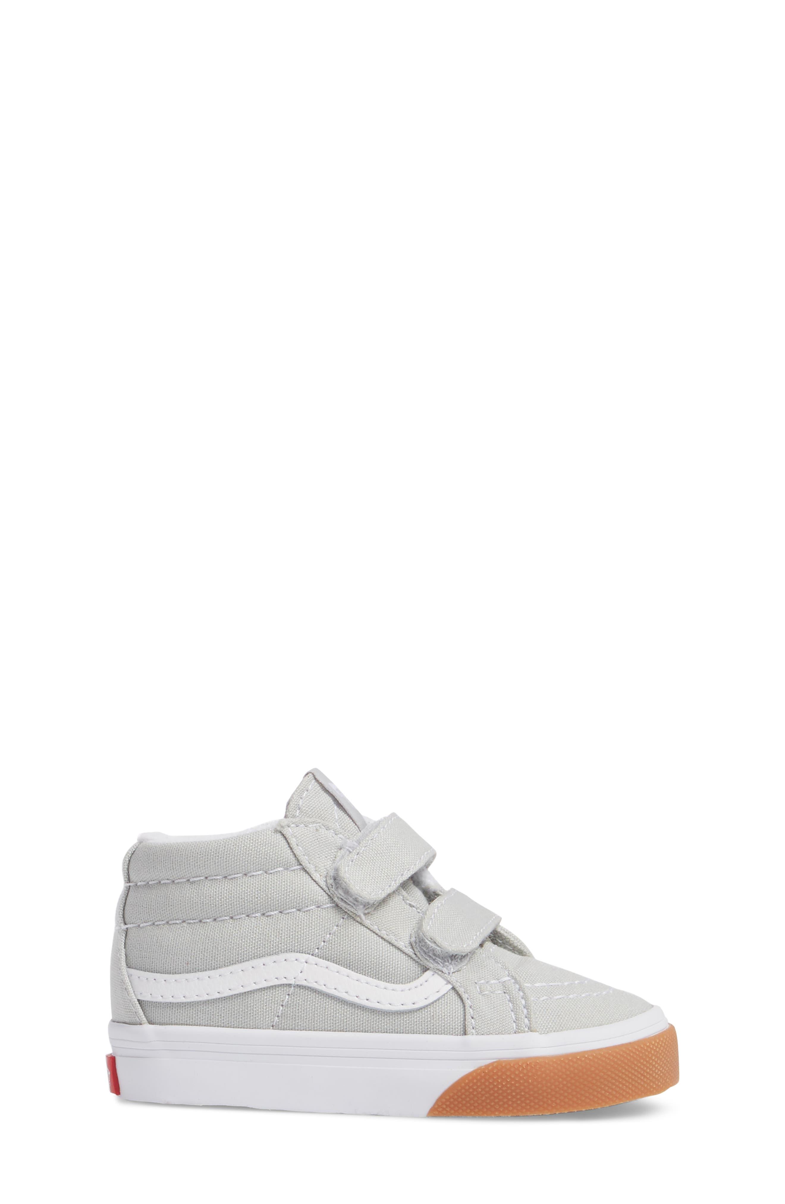 Alternate Image 3  - Vans SK8-Mid Reissue V Sneaker (Baby, Walker & Toddler)