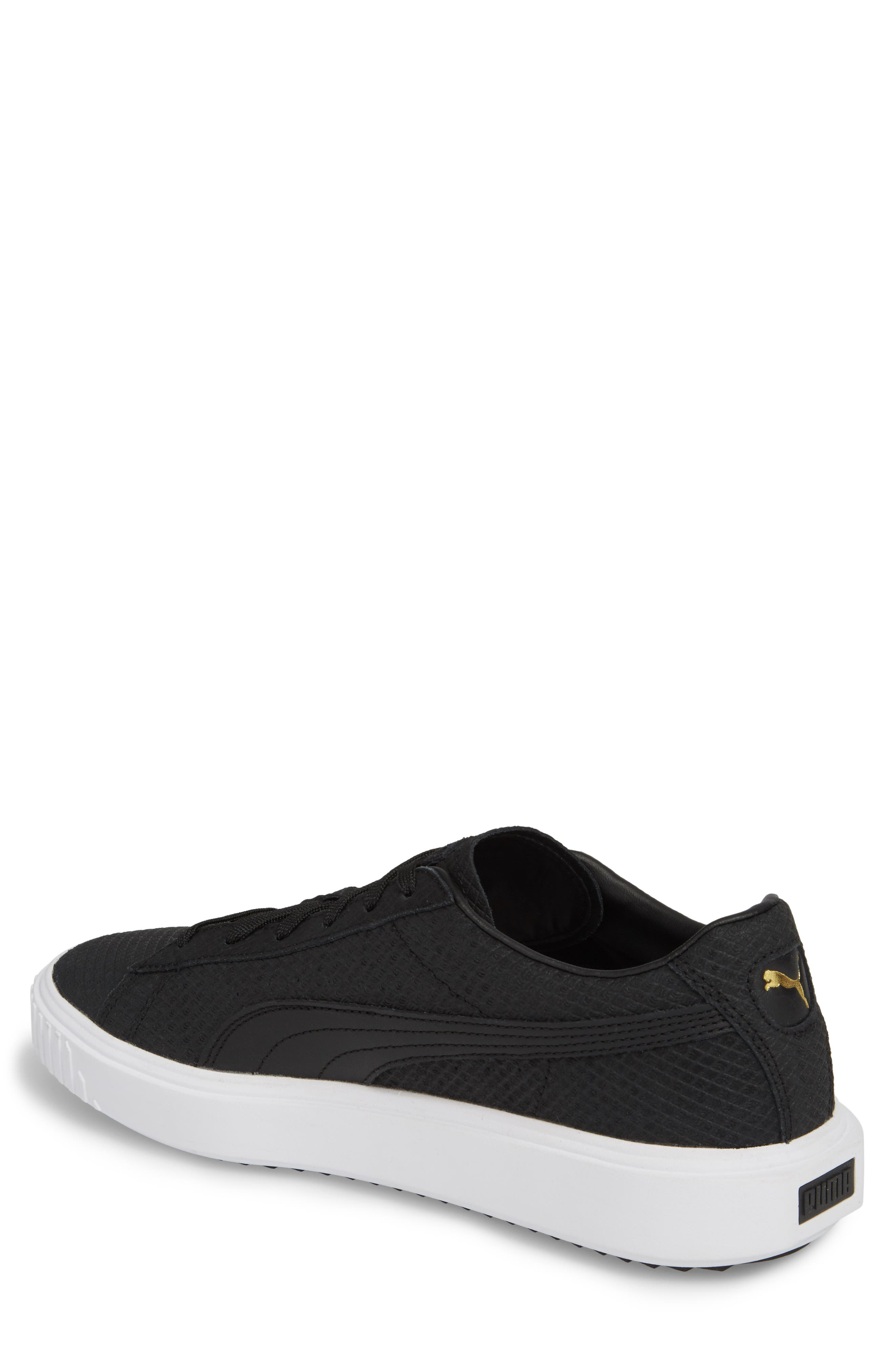 Breaker Sneaker (Men,                             Alternate thumbnail 2, color,                             Black