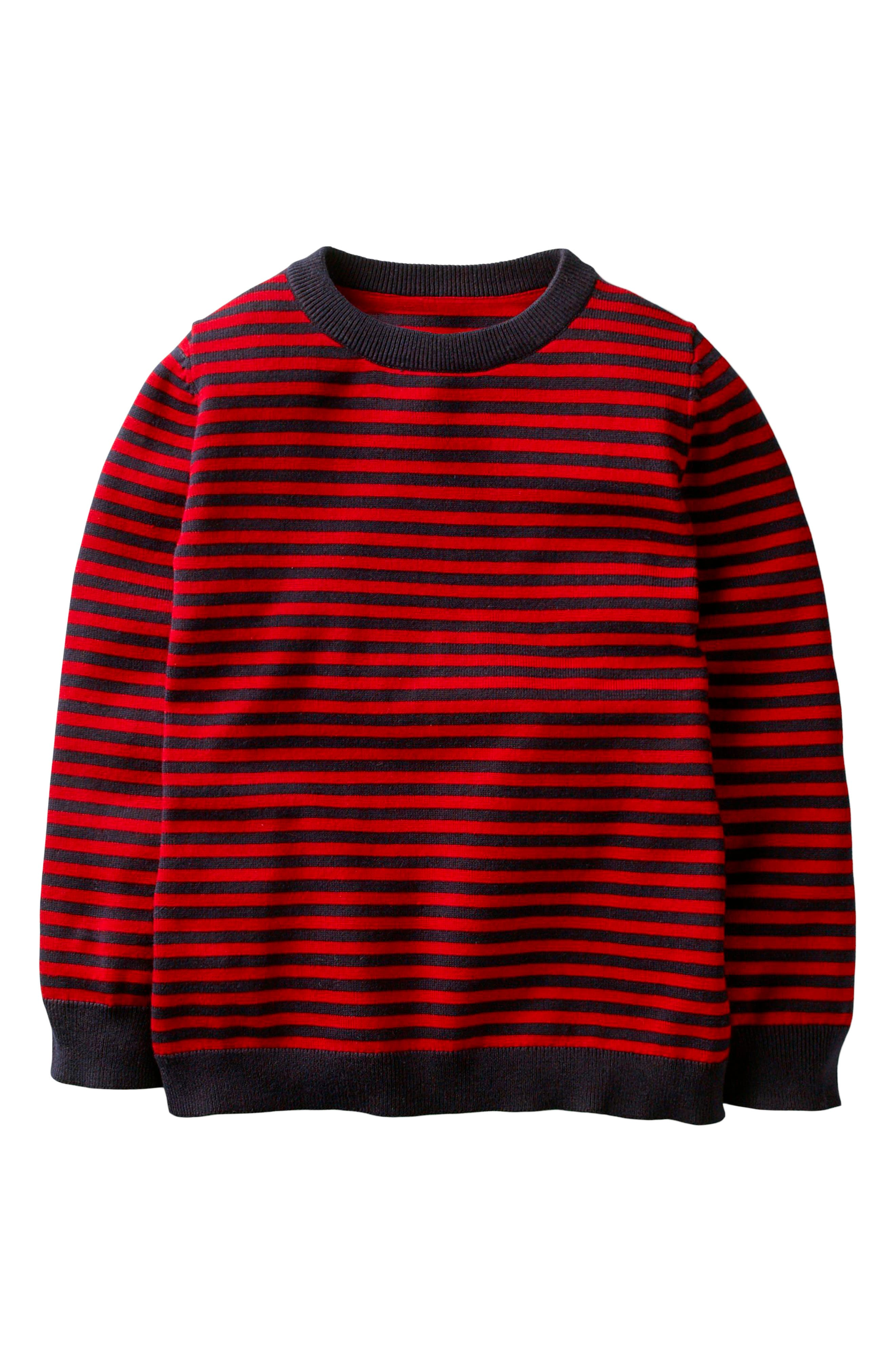 Mini Boden Cotton & Cashmere Sweater (Toddler Boys, Little Boys & Big Boys)