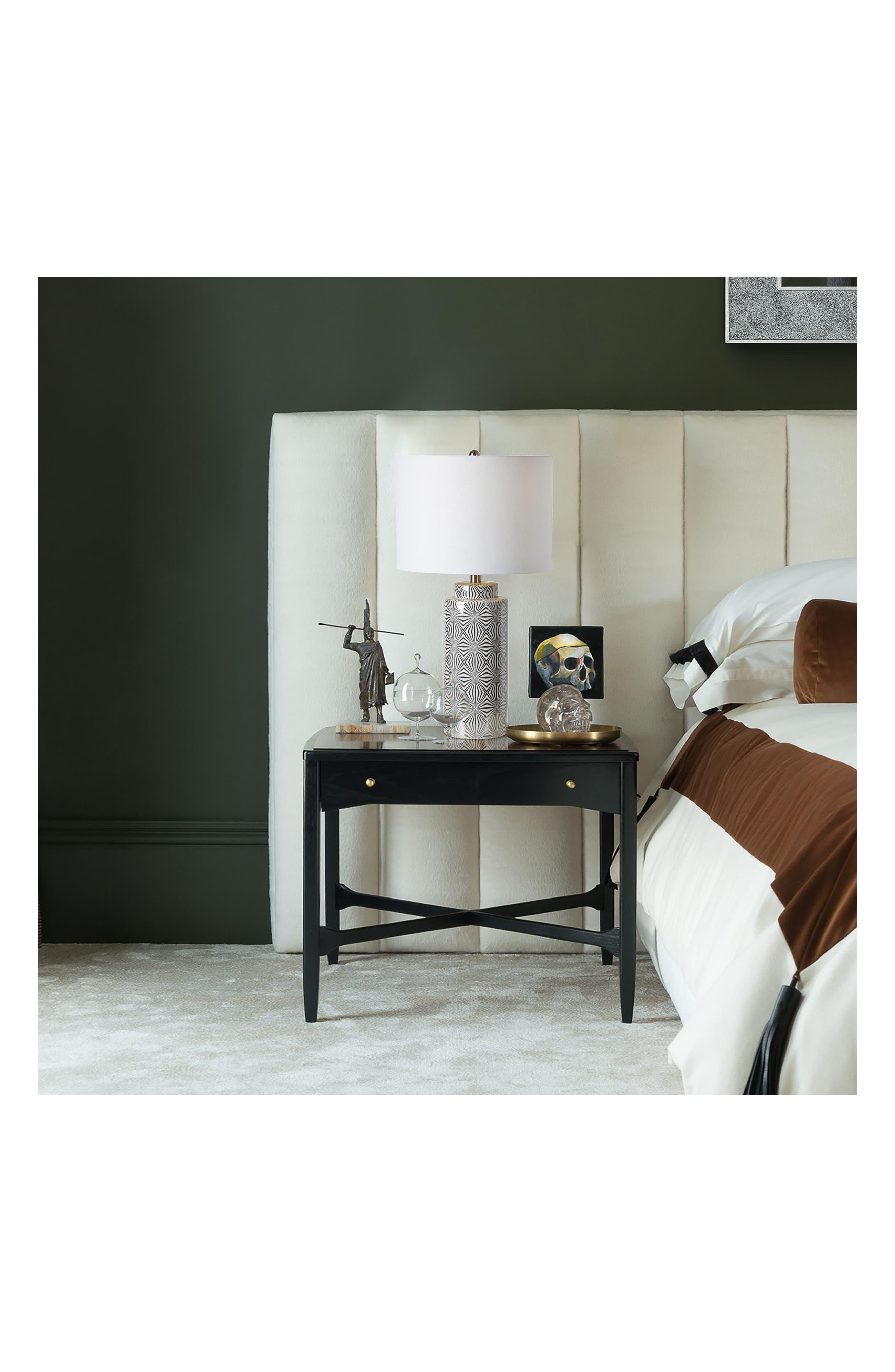 Camden Table Lamp,                             Alternate thumbnail 2, color,                             Silver/ White