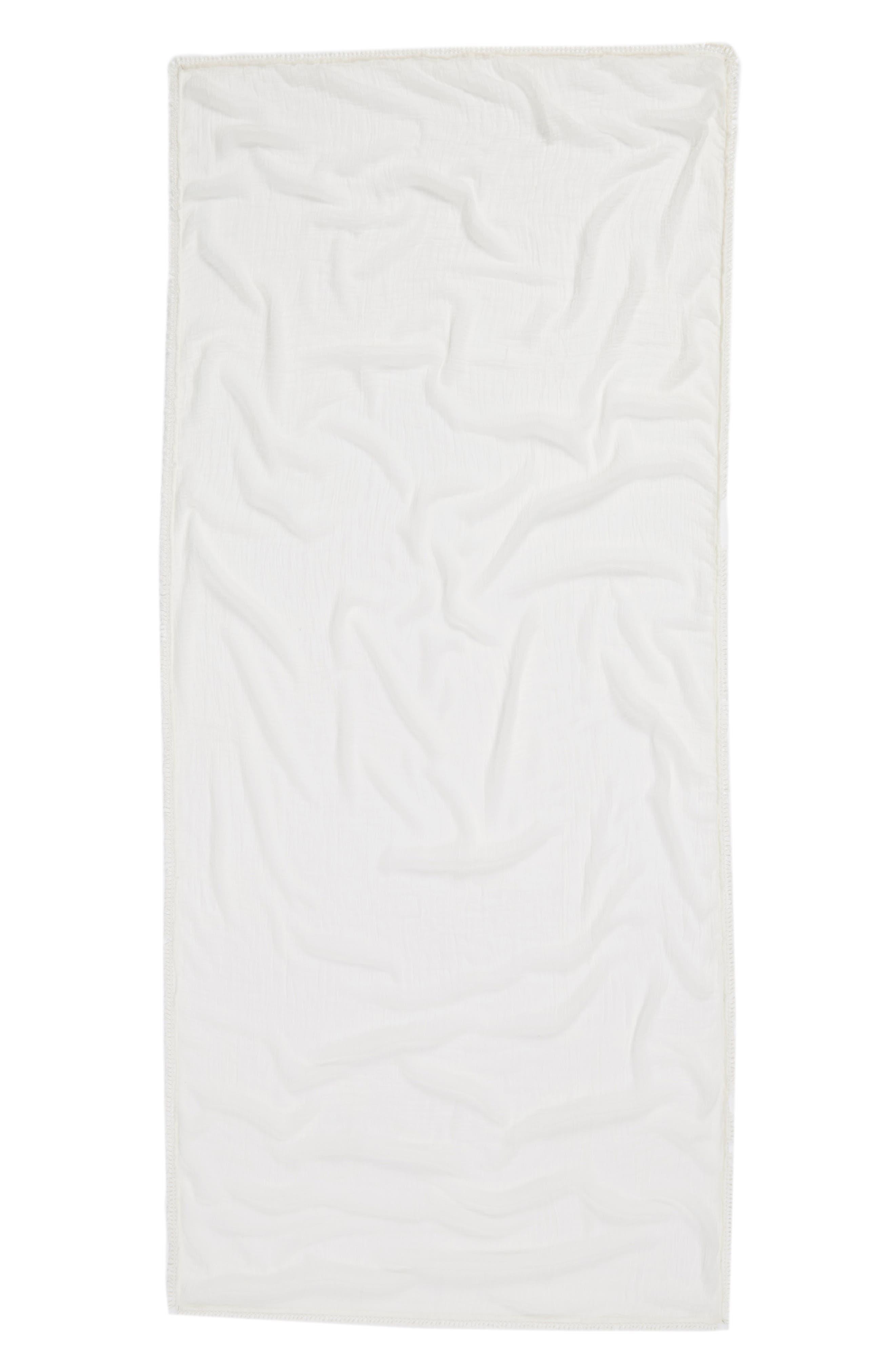 Tassel Wrap,                             Alternate thumbnail 3, color,                             Ivory Marshmallow