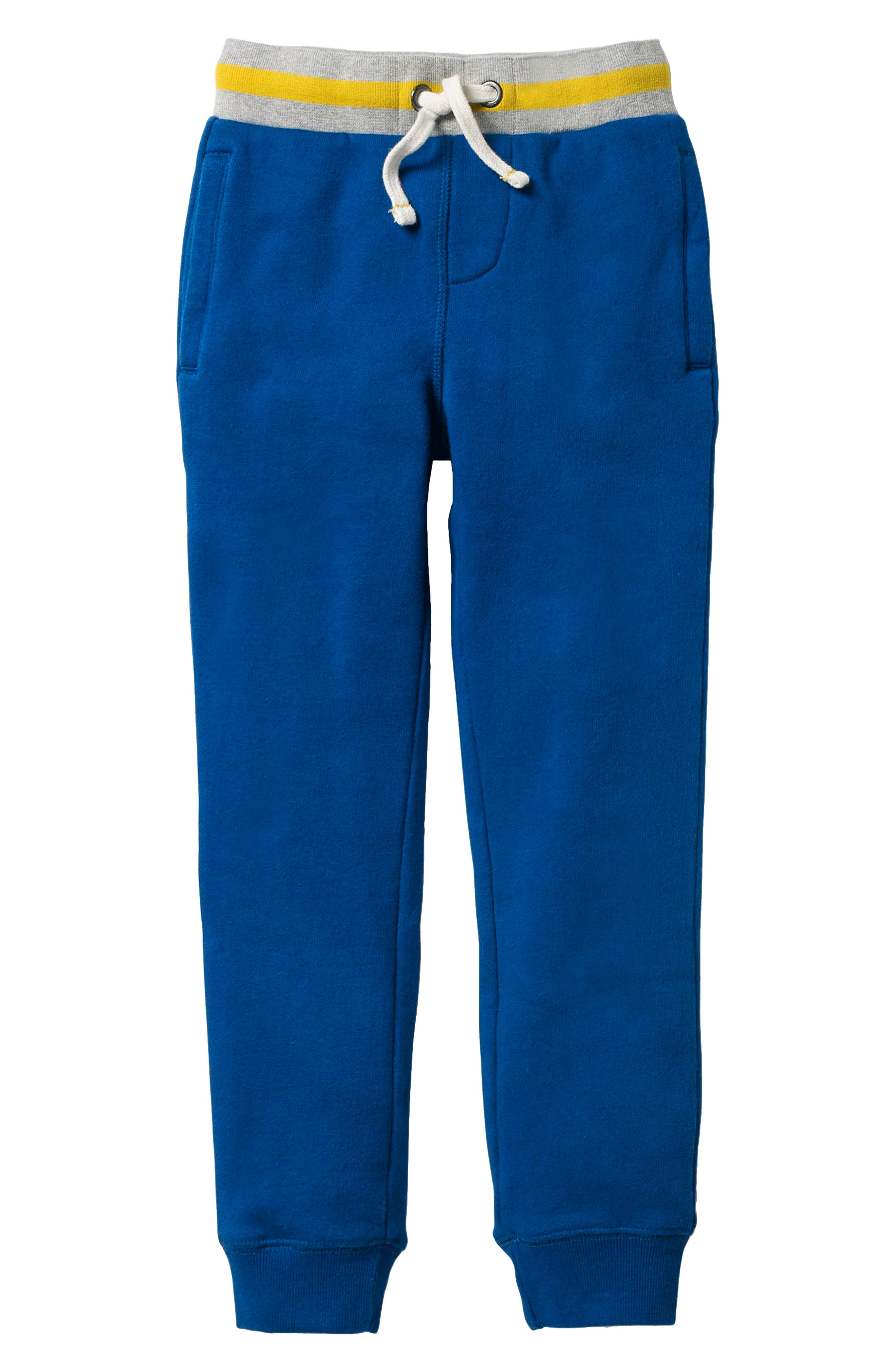 Tipped Sweatpants,                         Main,                         color, Orion Blue