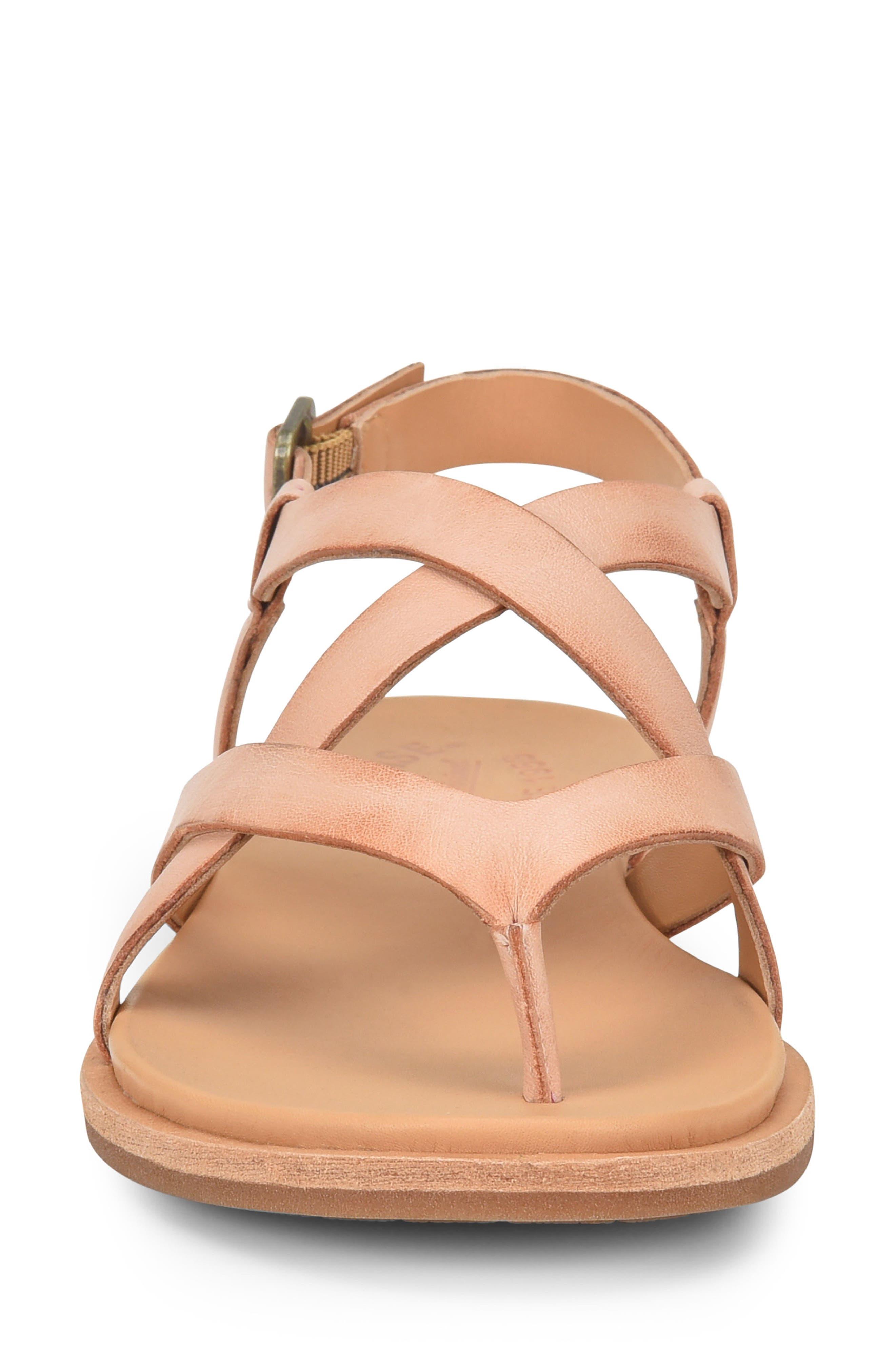 Yarbrough Sandal,                             Alternate thumbnail 4, color,                             Blush Leather
