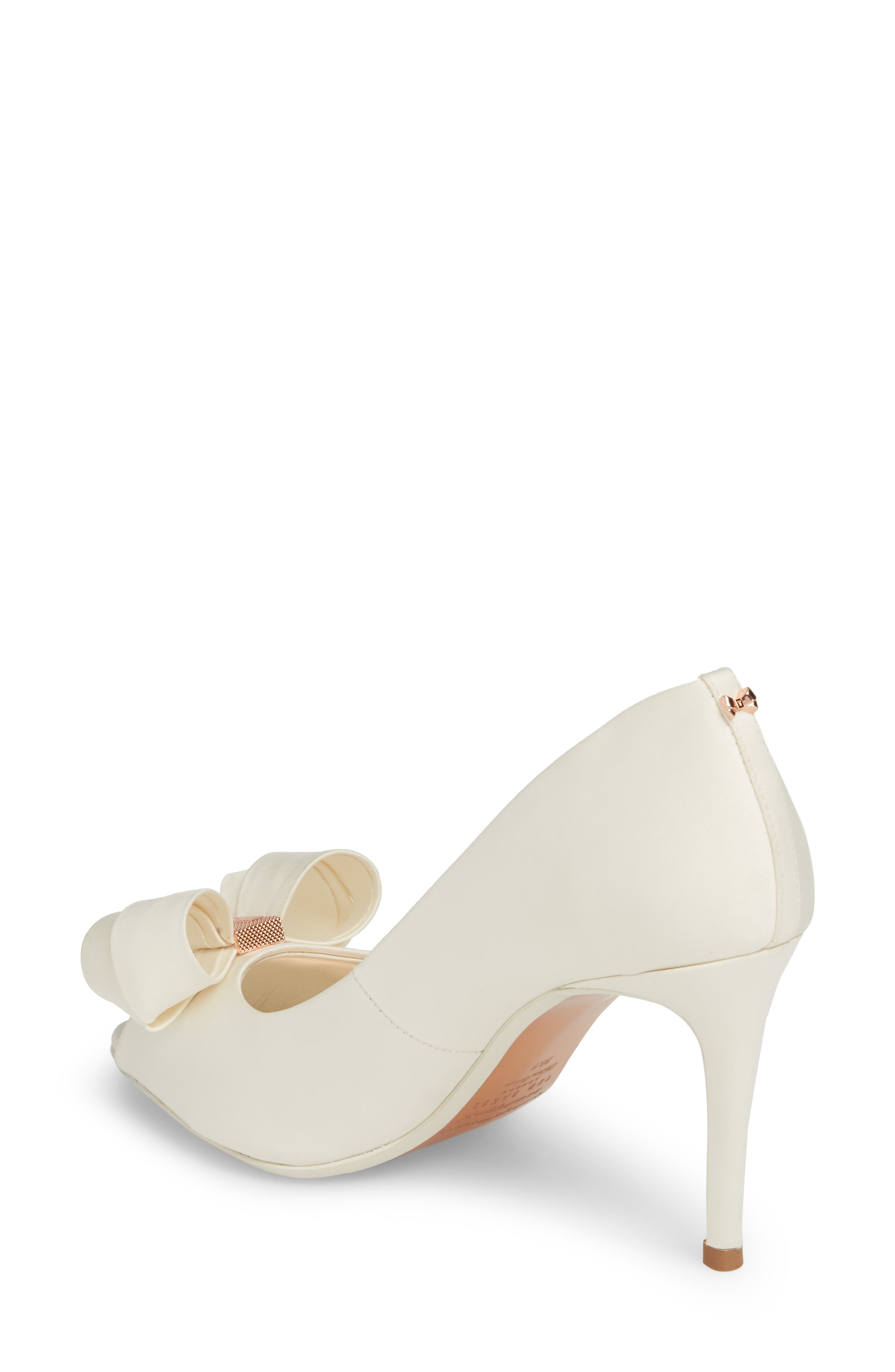 Alternate Image 2  - Ted Baker London Vylett Peep Toe Pump (Women)