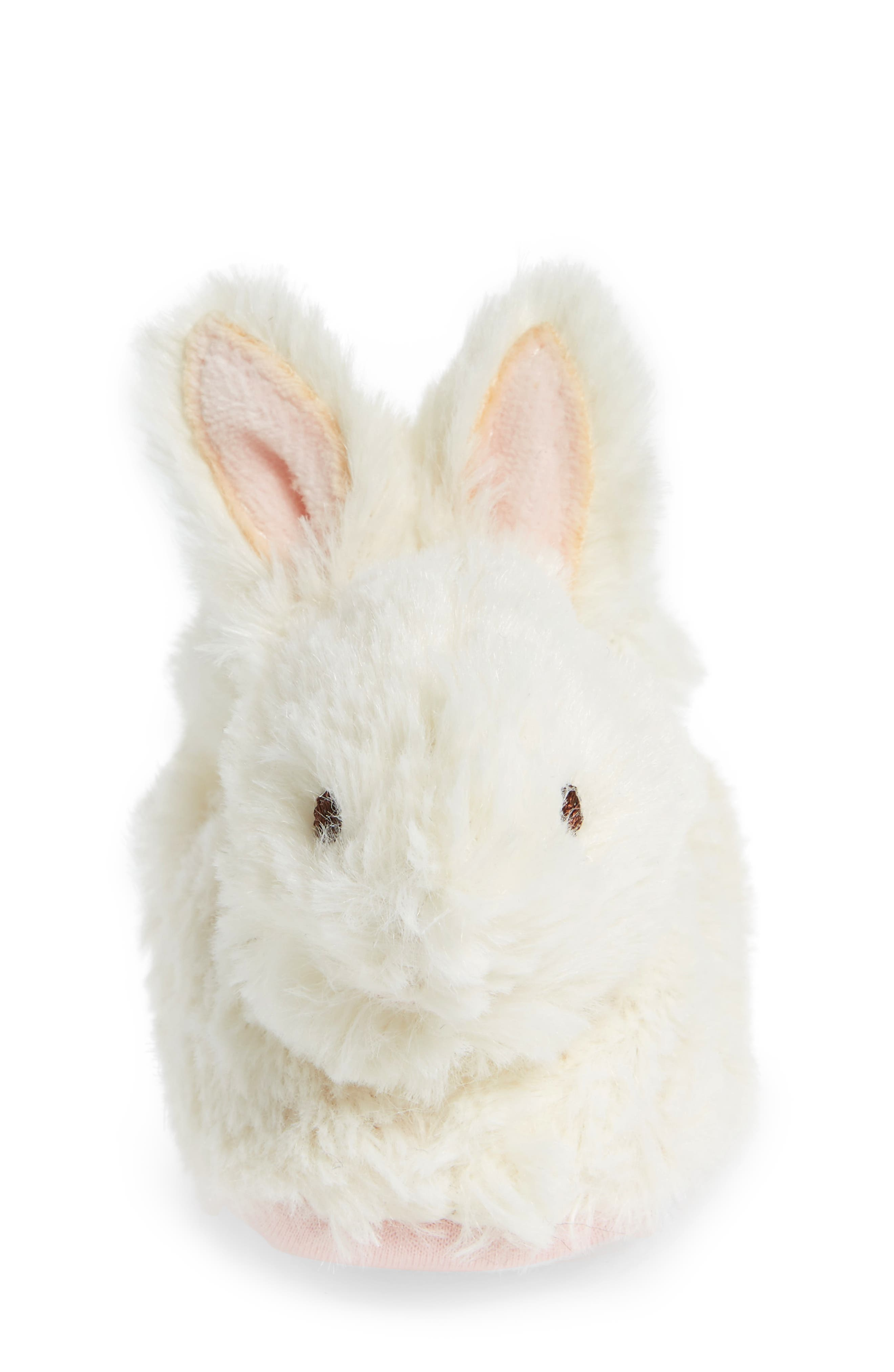 Alternate Image 4  - TrimFit Faux Fur Bunny Slipper (Baby)
