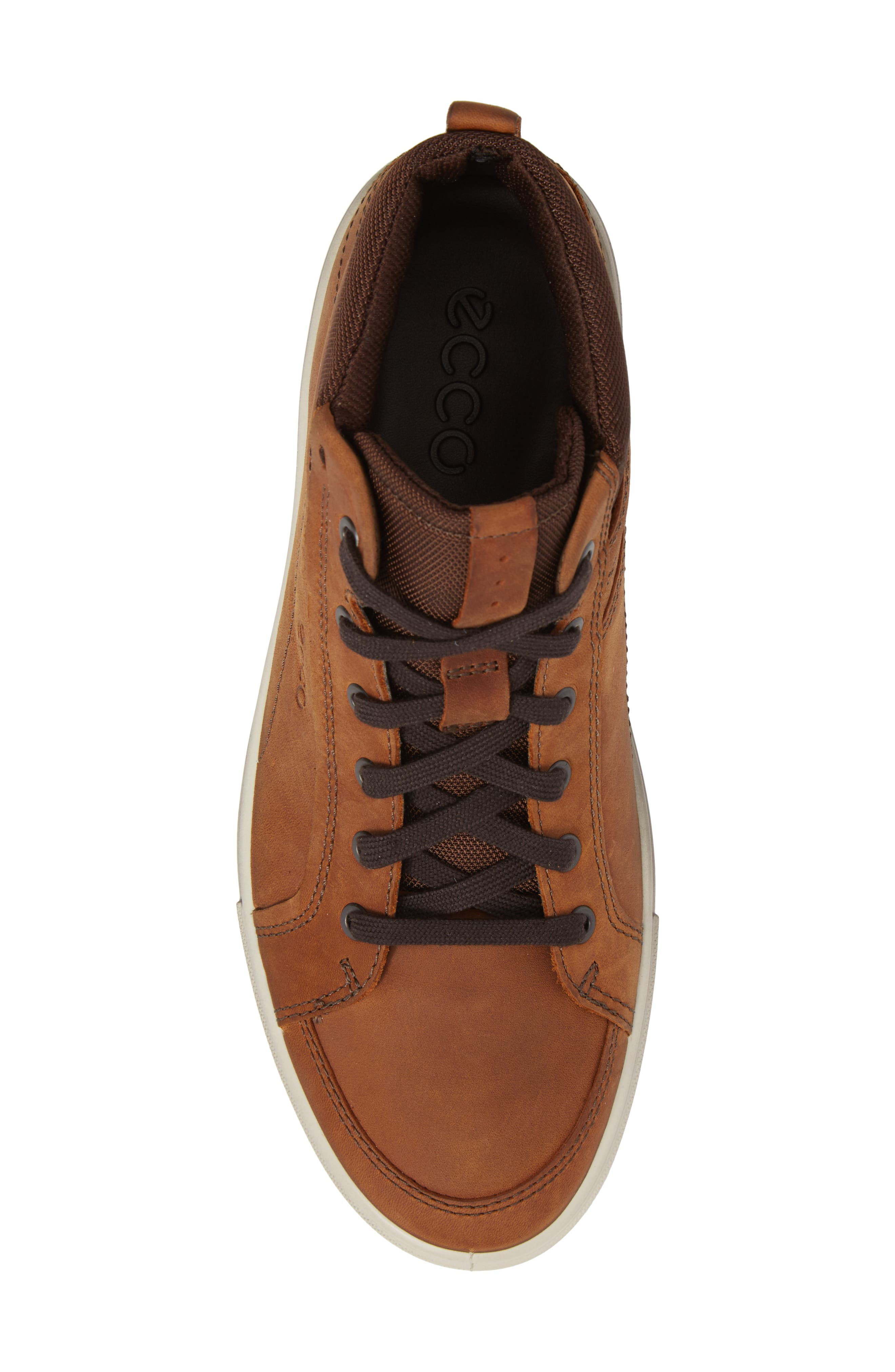 Kyle Sneaker,                             Alternate thumbnail 5, color,                             Amber Leather