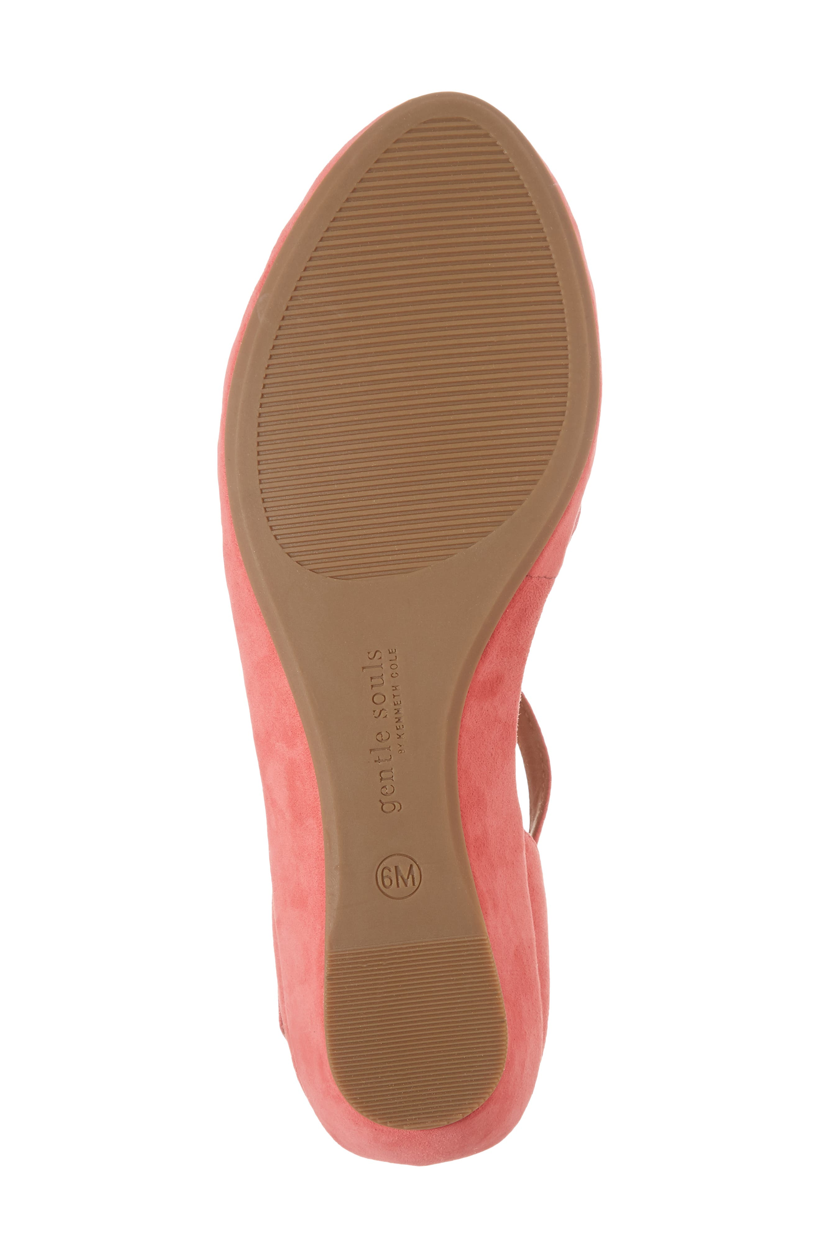 by Kenneth Cole Naira Wedge,                             Alternate thumbnail 6, color,                             Coral Suede
