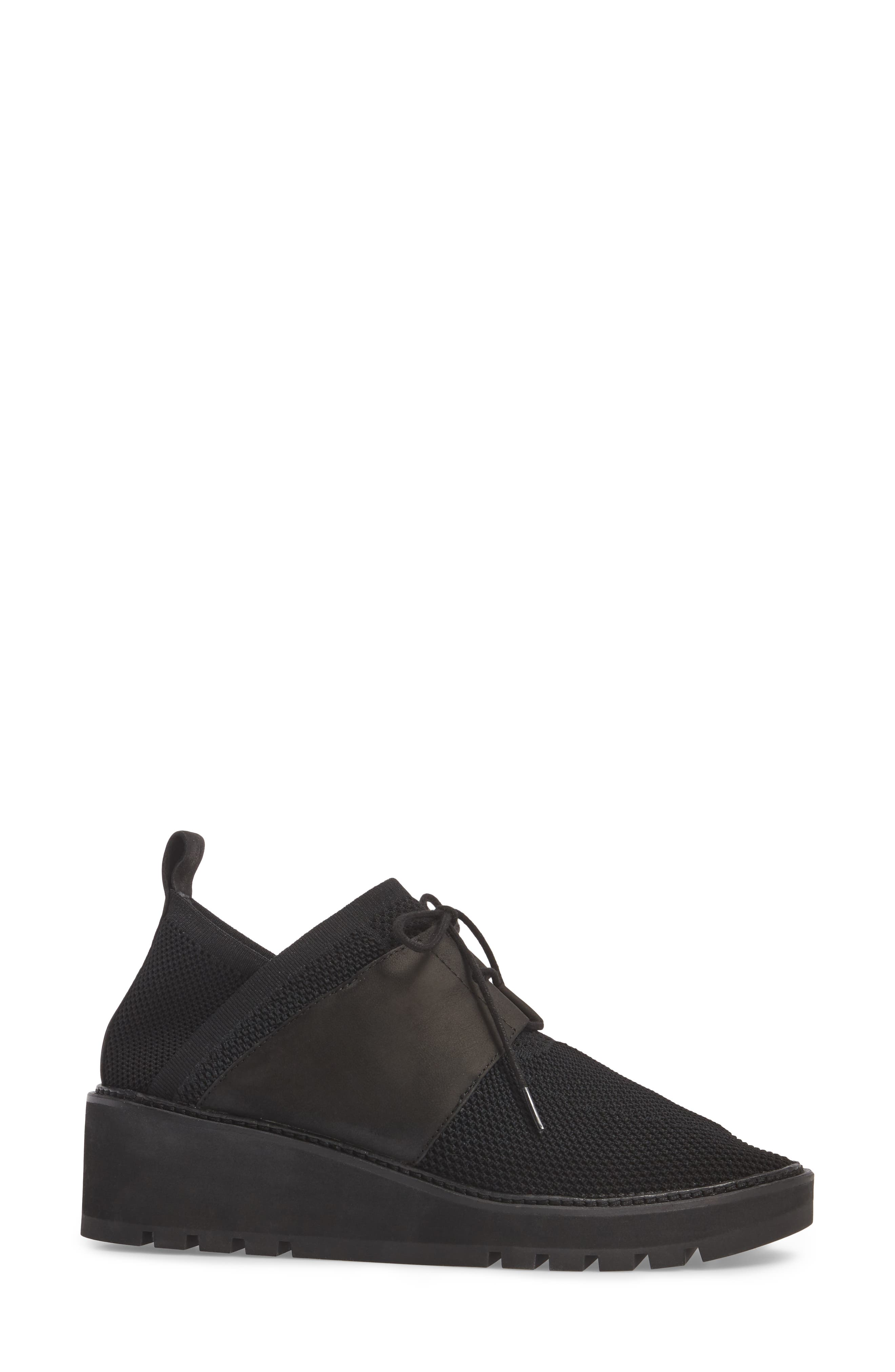 Wilson Sneaker,                             Alternate thumbnail 3, color,                             Black Fabric